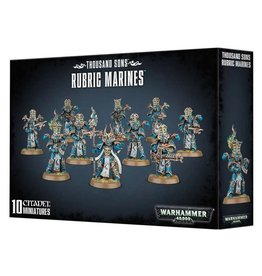 Warhammer 40K WH40K Thousand Sons -  Rubric Marines