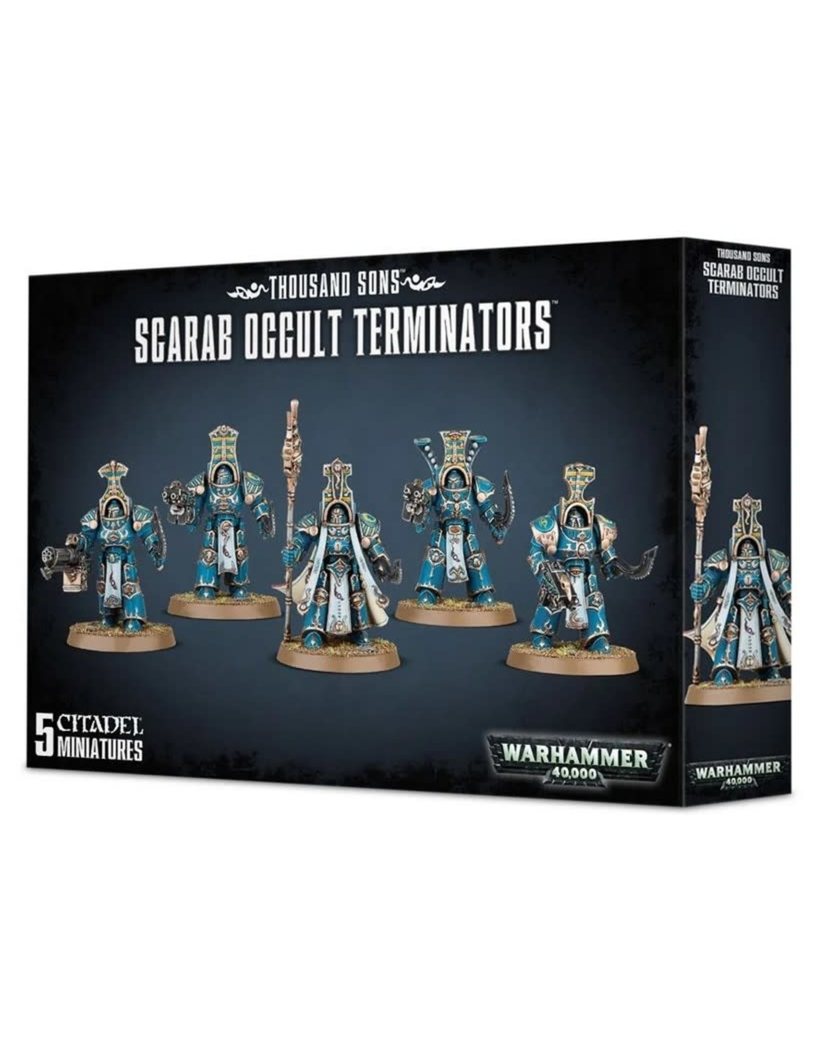 Warhammer 40K WH40K Thousand Sons - Scarab Occult Terminators