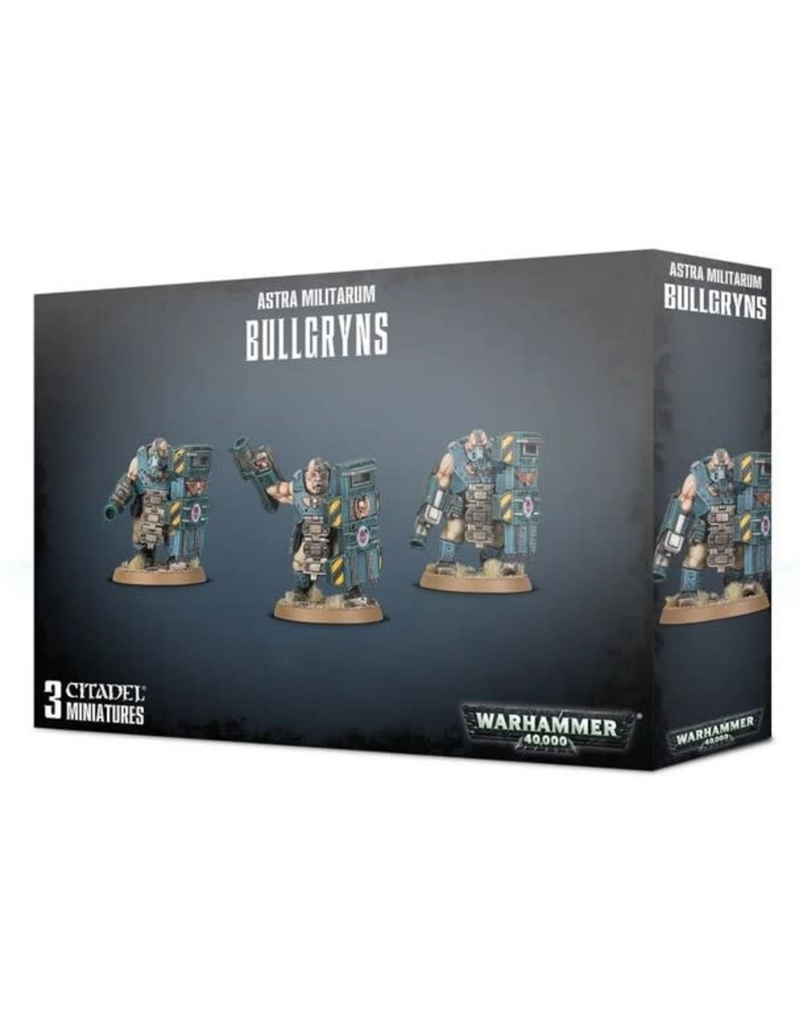 Warhammer 40K WH40K Militarum Auxilla Bullgryns