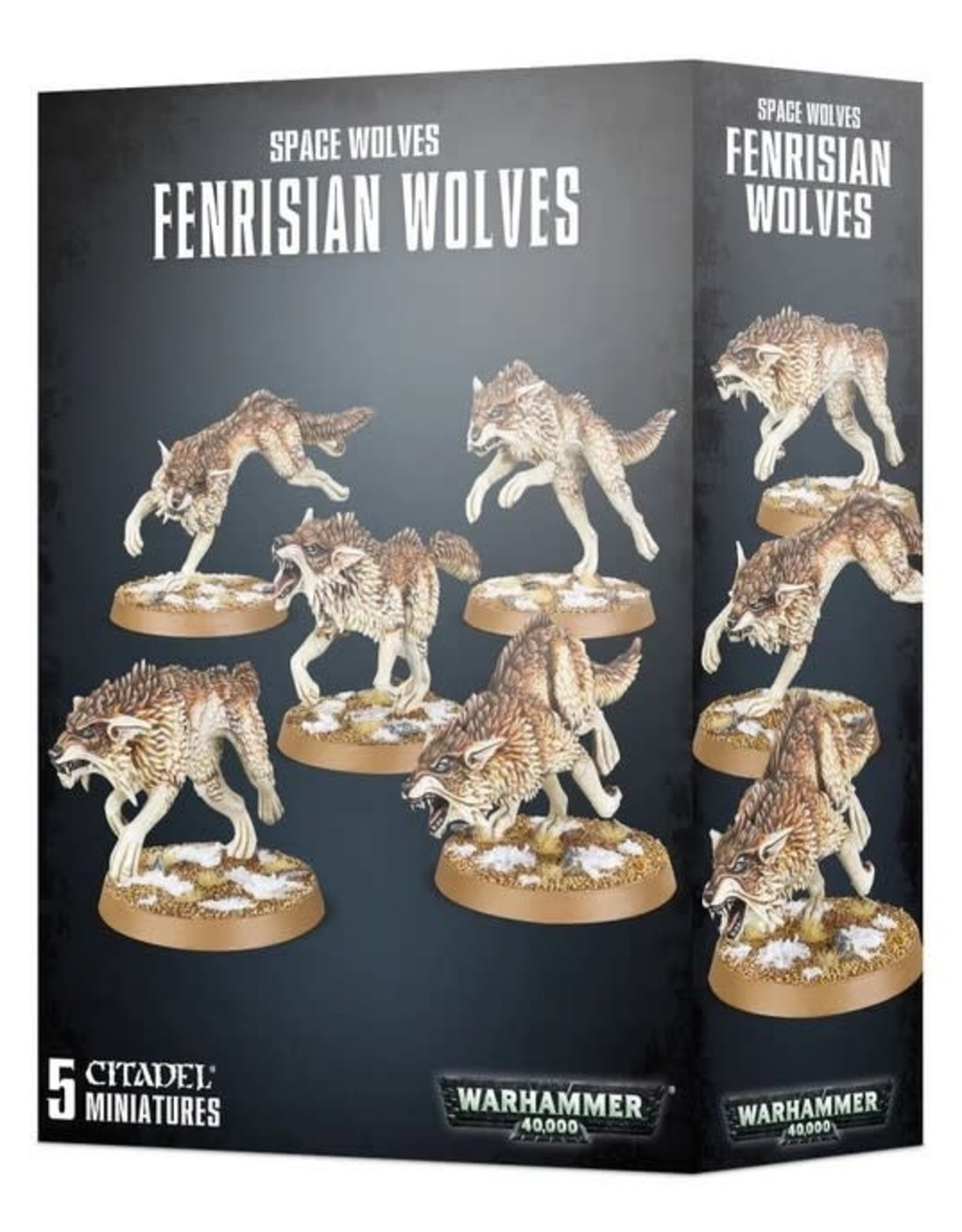Warhammer 40K WH40K Space Wolves Fenrisian Wolf Pack