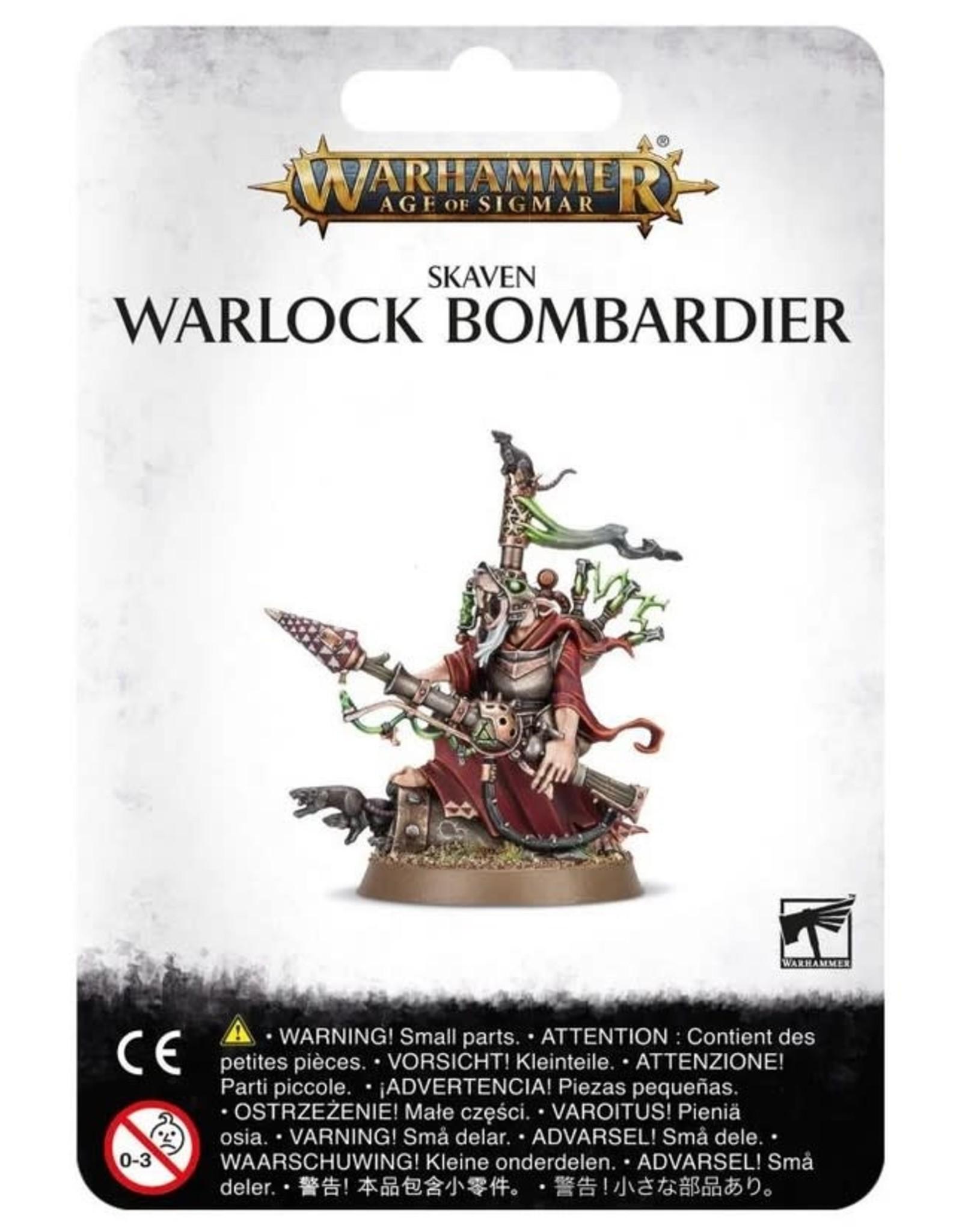 Warhammer AoS WHAoS Skaven Warlock Bombardier
