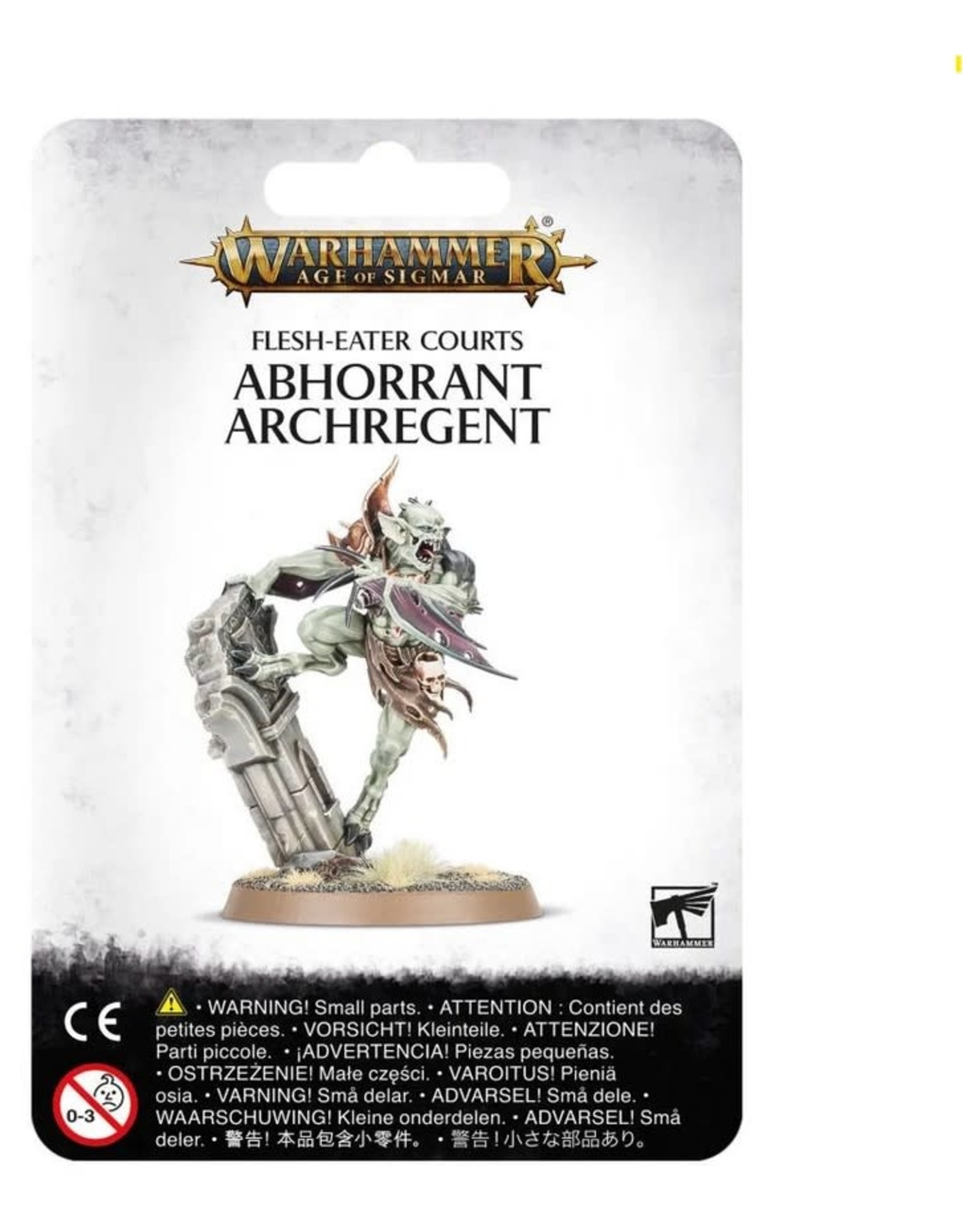 Warhammer AoS WHAoS Flesh-Eater Courts - Abhorrant Archregent