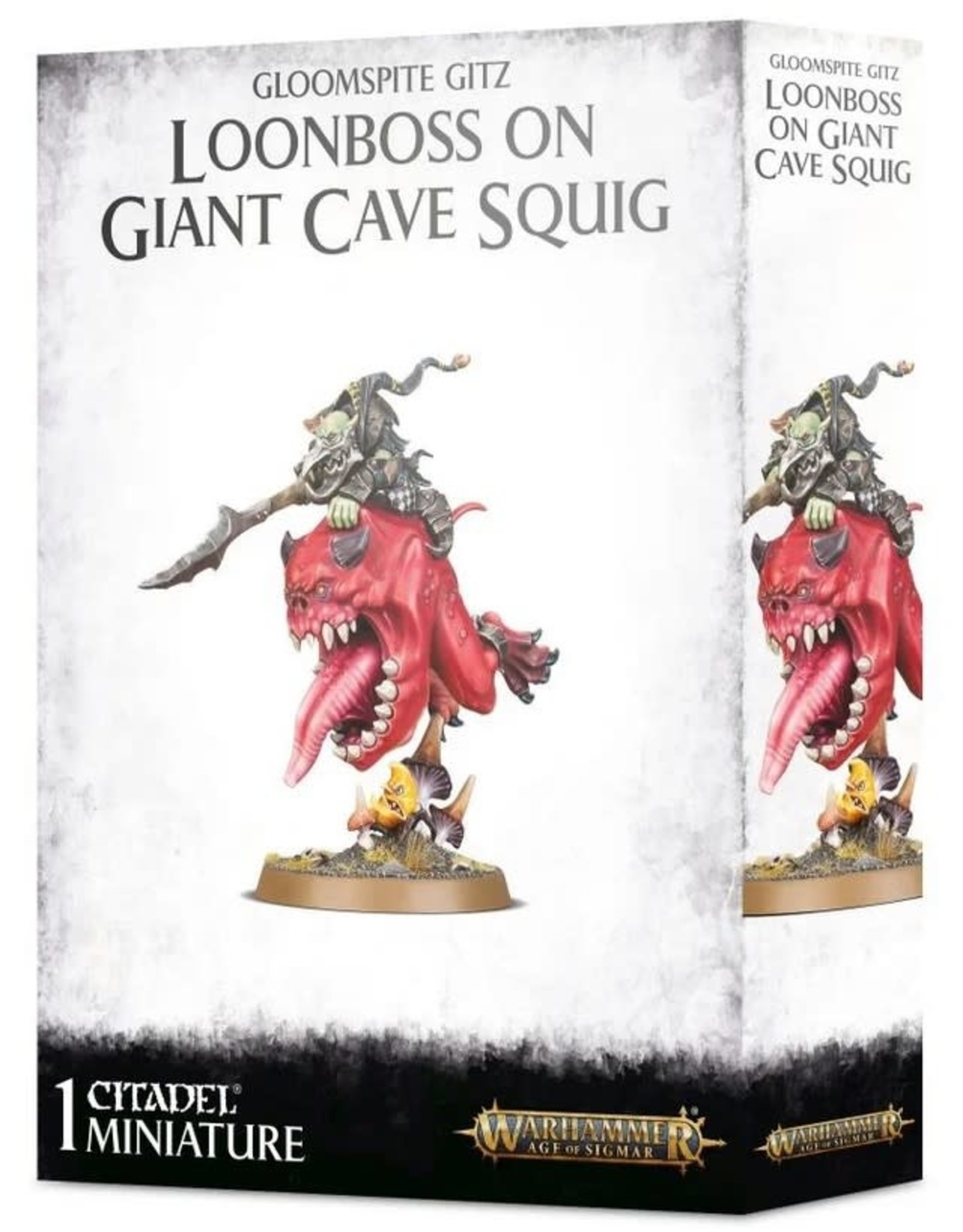 Warhammer AoS WHAoS Loonboss on Giant Cave Squig