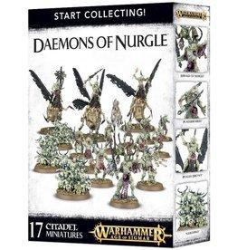 Warhammer AoS WHAoS Daemons of Nurgle Starter Box