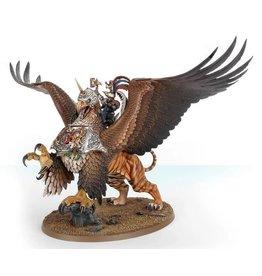 Warhammer AoS WHAoS- Freeguild General on Griffon