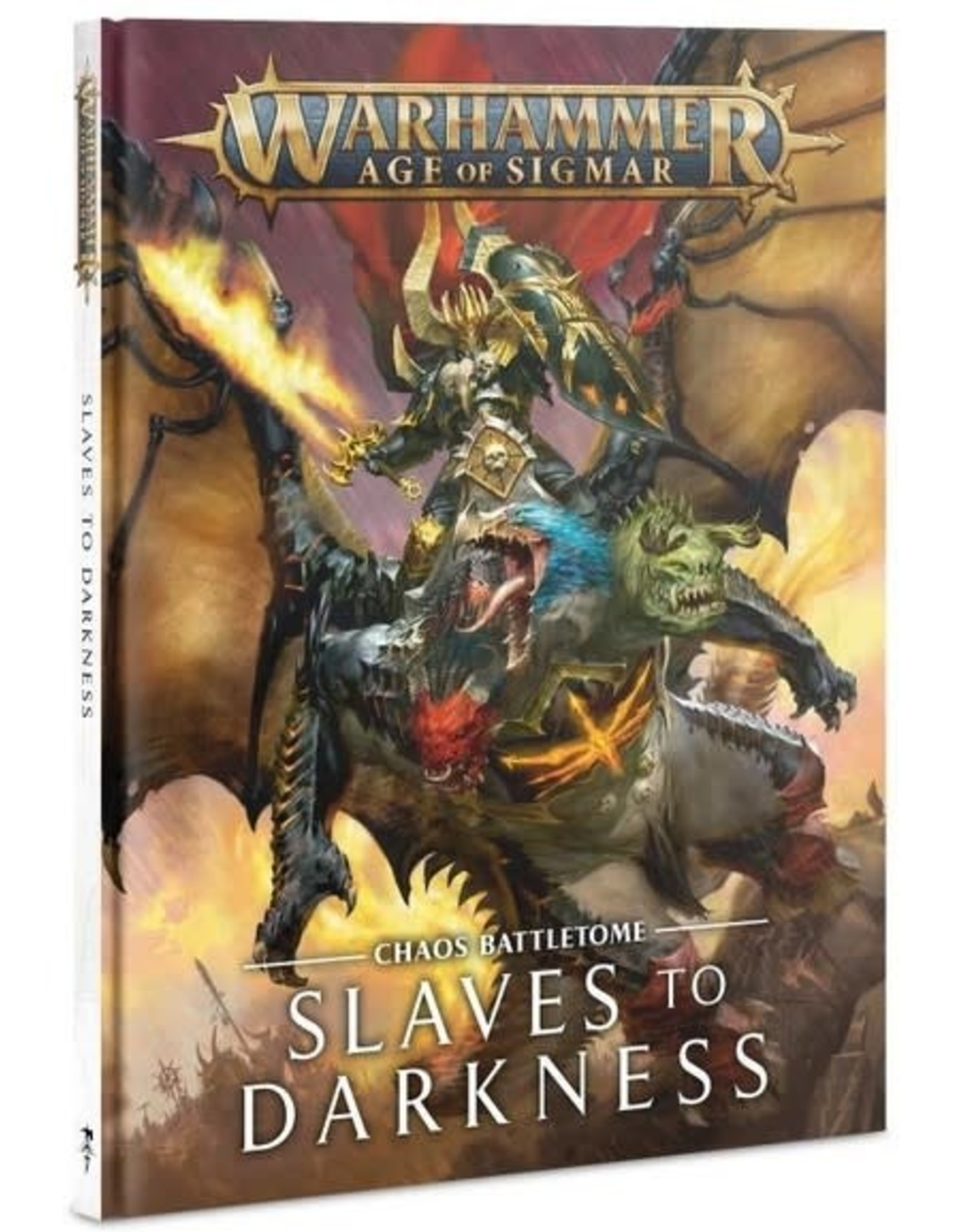 Warhammer AoS WHAoS Chaos Battletome - Slaves to Darkness