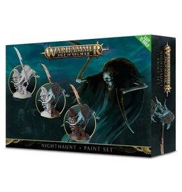 Warhammer AoS WHAoS: Nighthaunt Paint Set