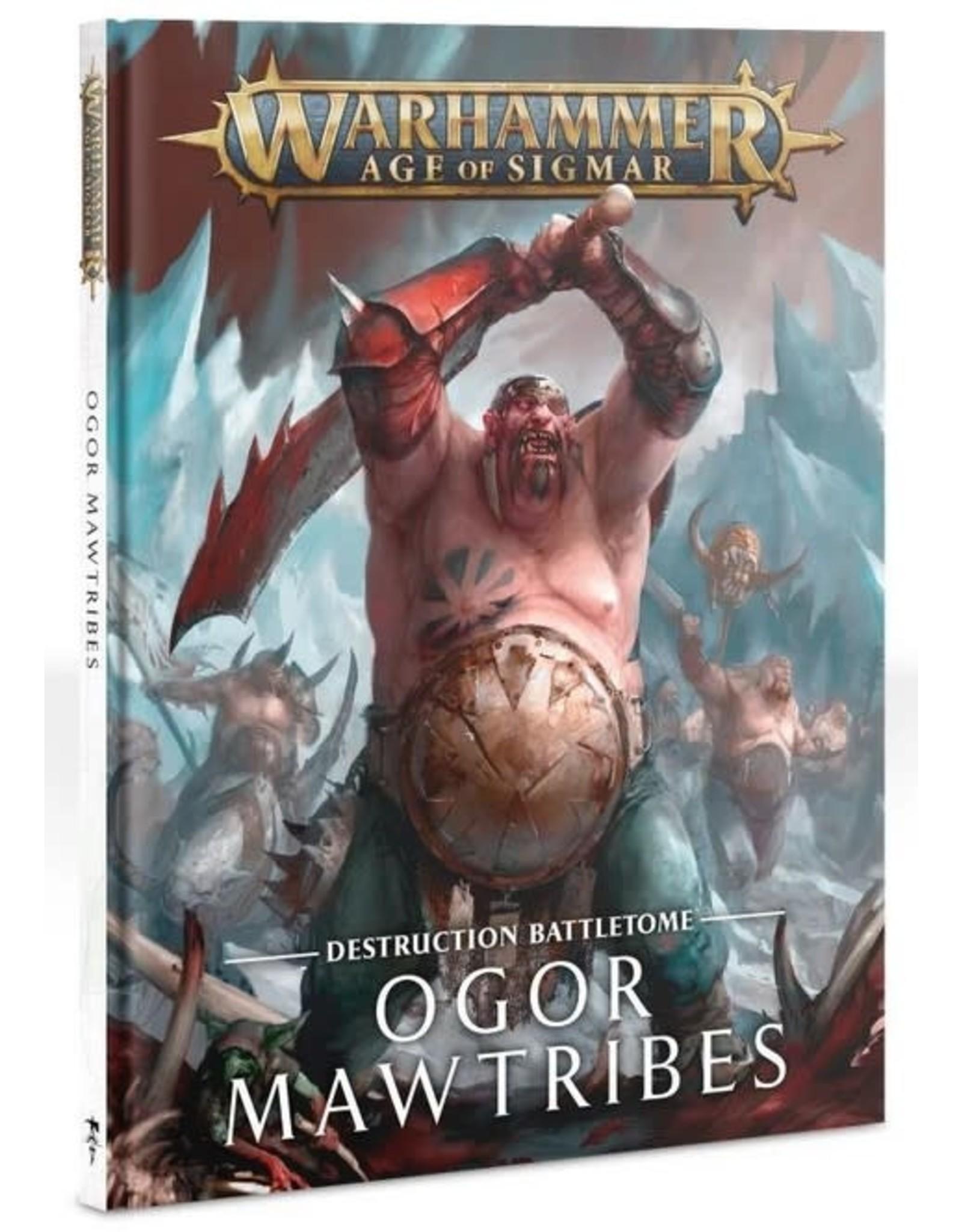 Warhammer AoS WHAoS Destruction Battletome - Ogor Mawtribes