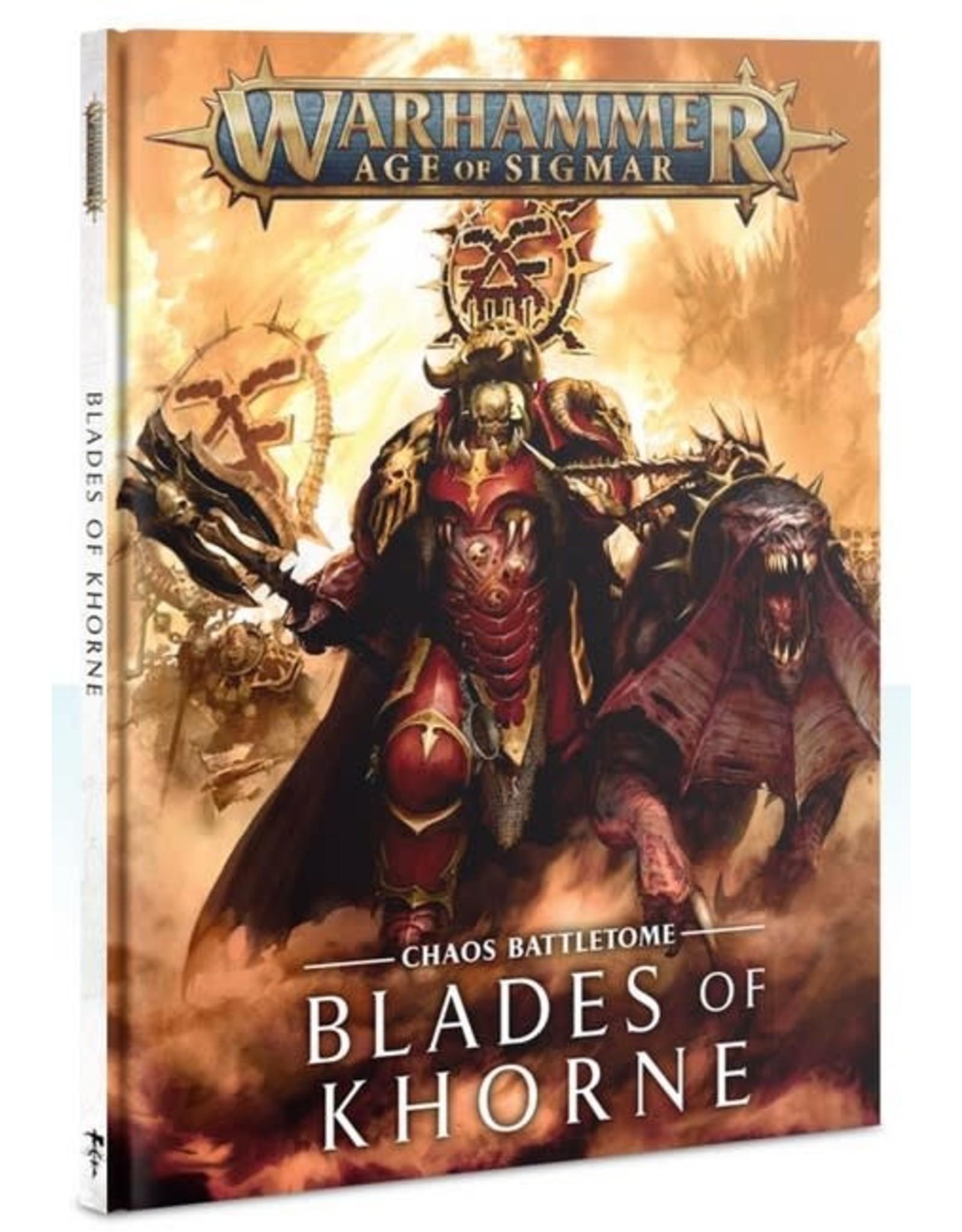 Warhammer AoS WHAoS Chaos Battletome - Blades of Khorne