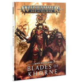 Warhammer AoS WHAoS Chaos Battletome - Blades of Khorne
