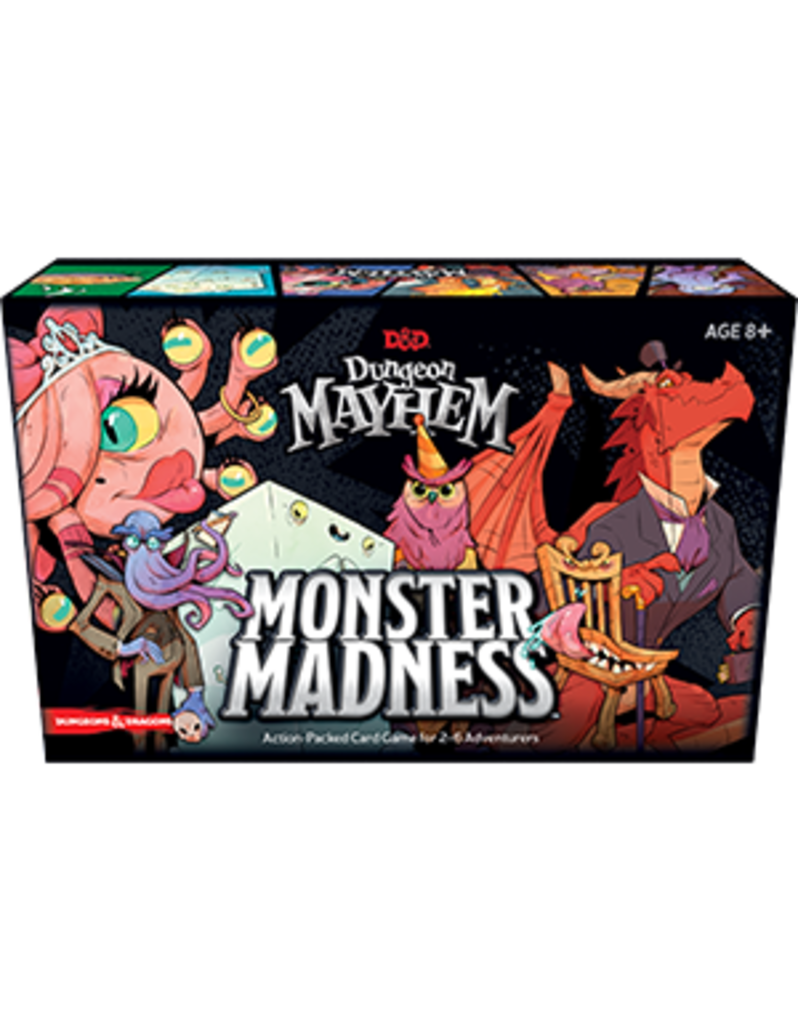 Wizards of the Coast D&D Dungeon Mayhem - Monster Madness