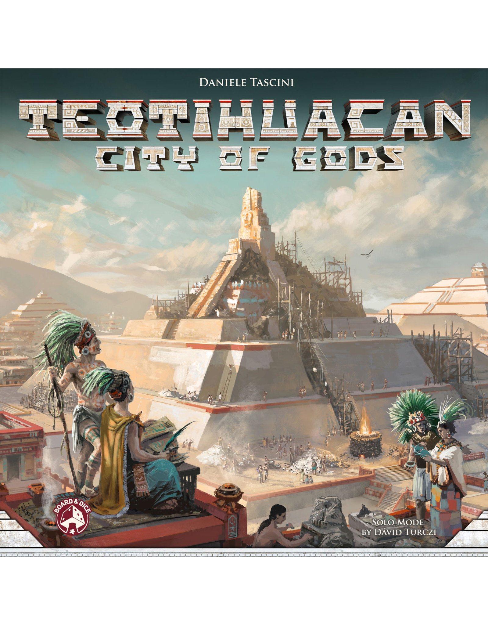 Board & Dice Teotihuacan - City of Gods