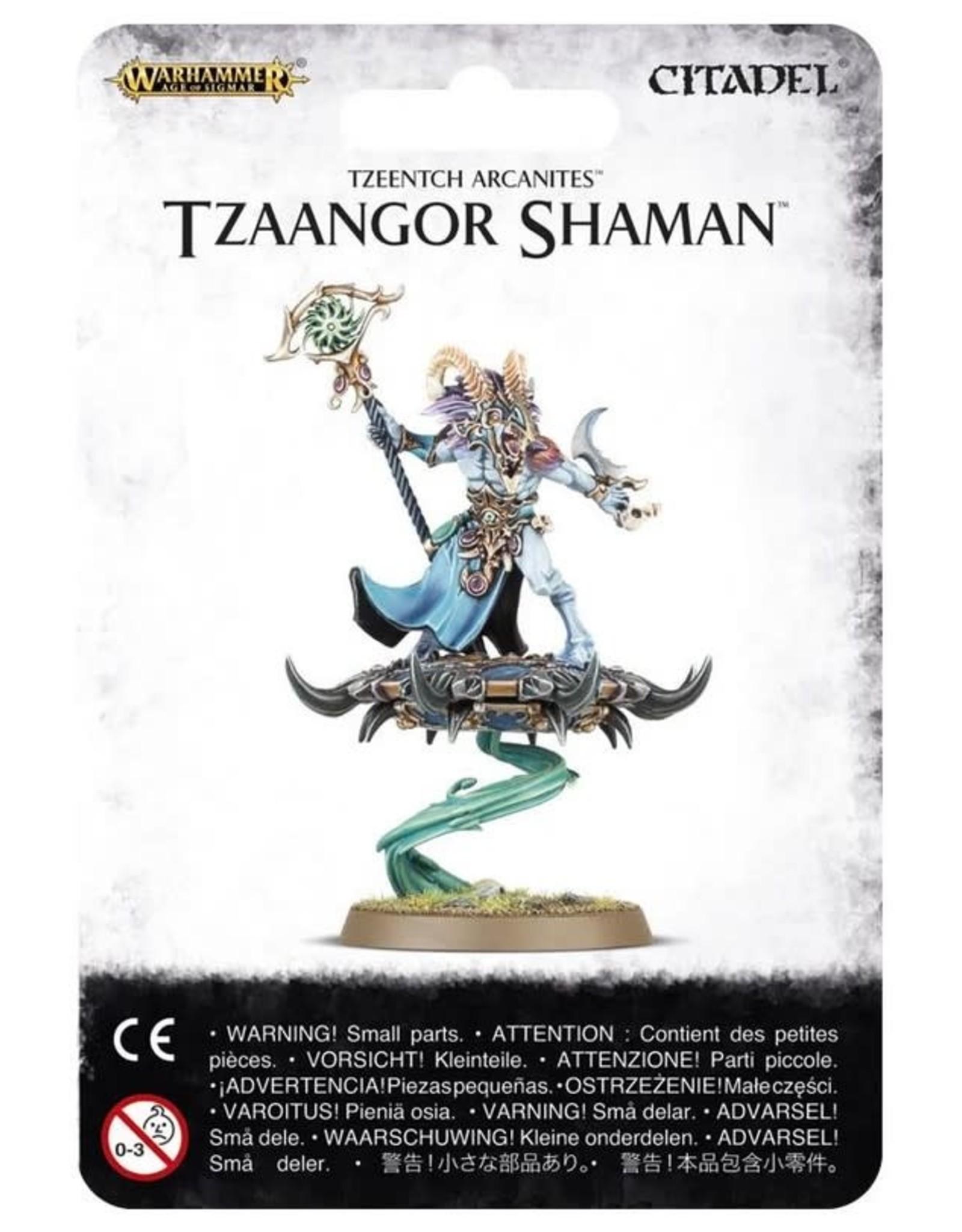 Warhammer AoS WHAoS Disciples of Tzeentch - Tzaangor Shaman