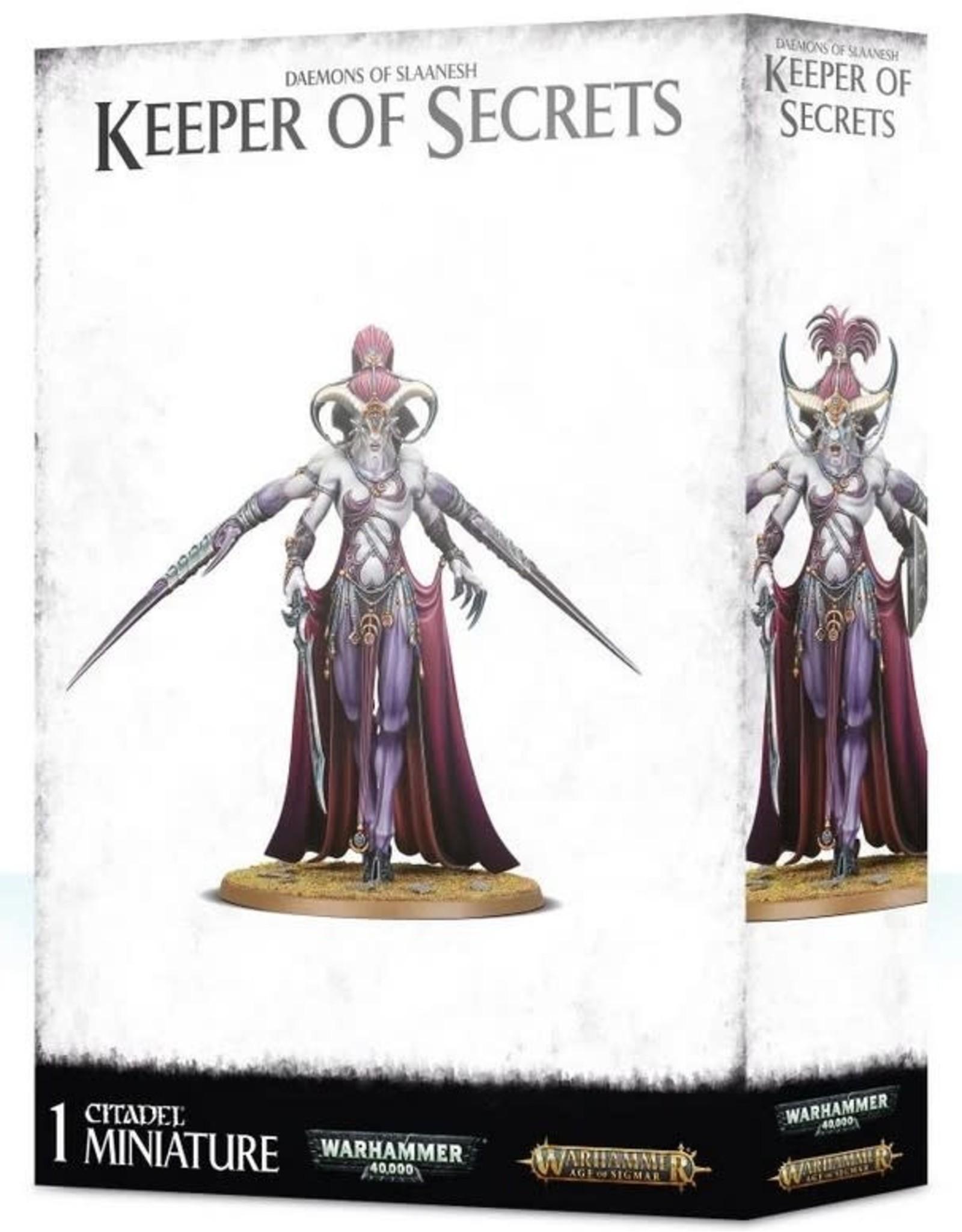 Warhammer AoS WHAoS Hedonites of Slaanesh Keeper of Secrets