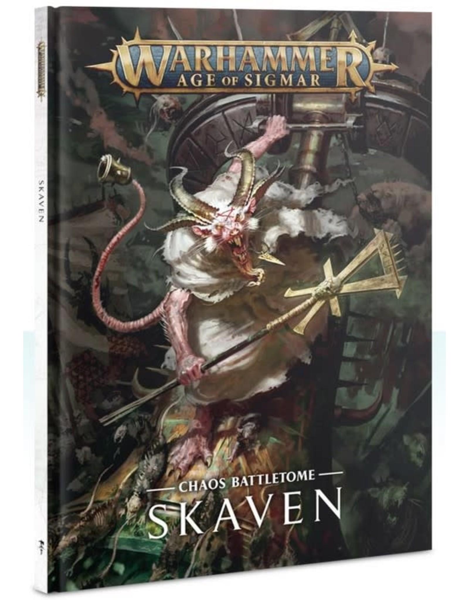 Warhammer AoS WHAoS Chaos Battletome - Skaven