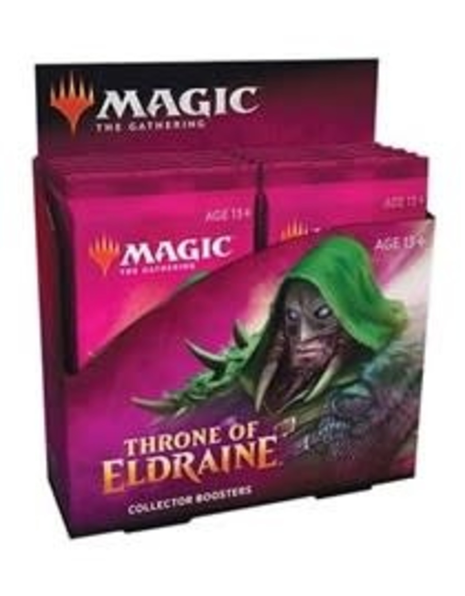Wizards of the Coast MtG Throne of Eldraine Collector Booster Box