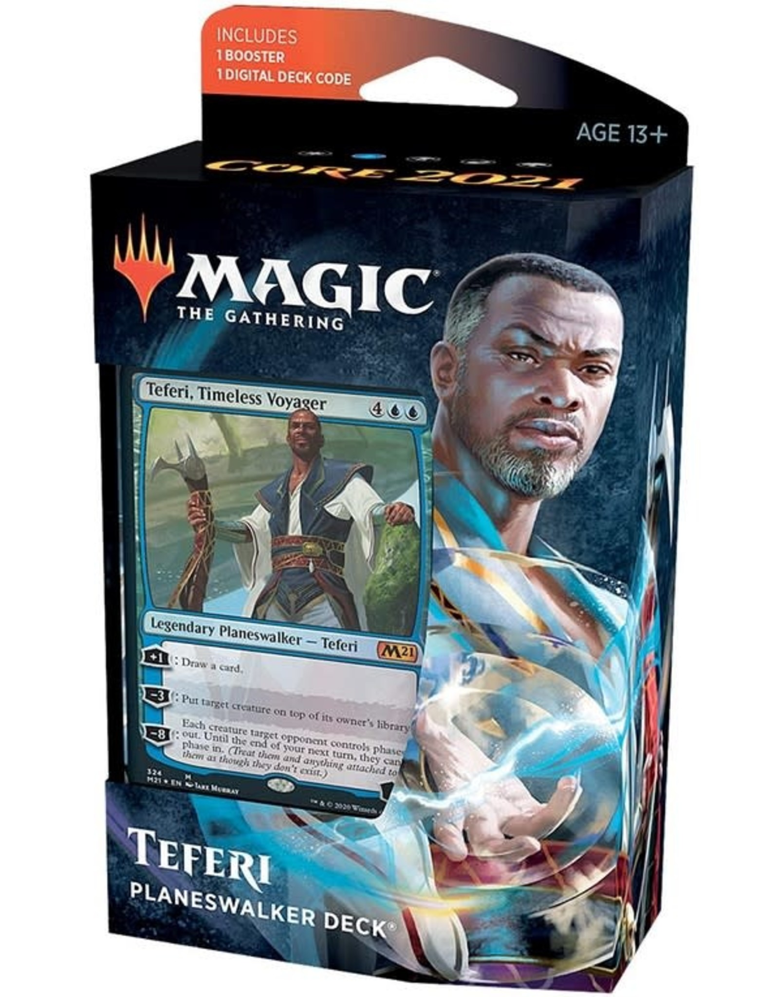 Wizards of the Coast MtG Core M21 Planeswalker Teferi