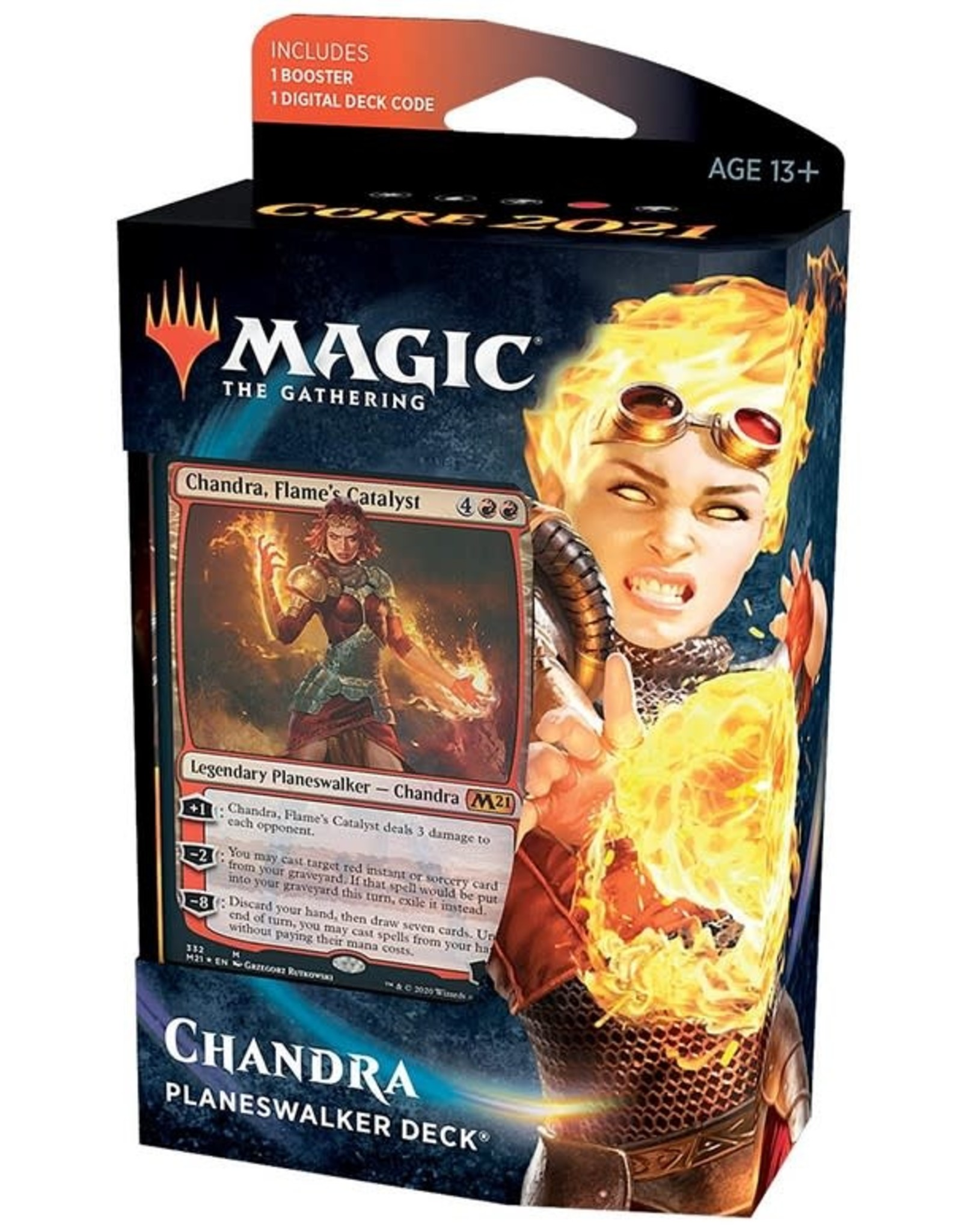 Wizards of the Coast MtG Core M21 Planeswalker Chandra