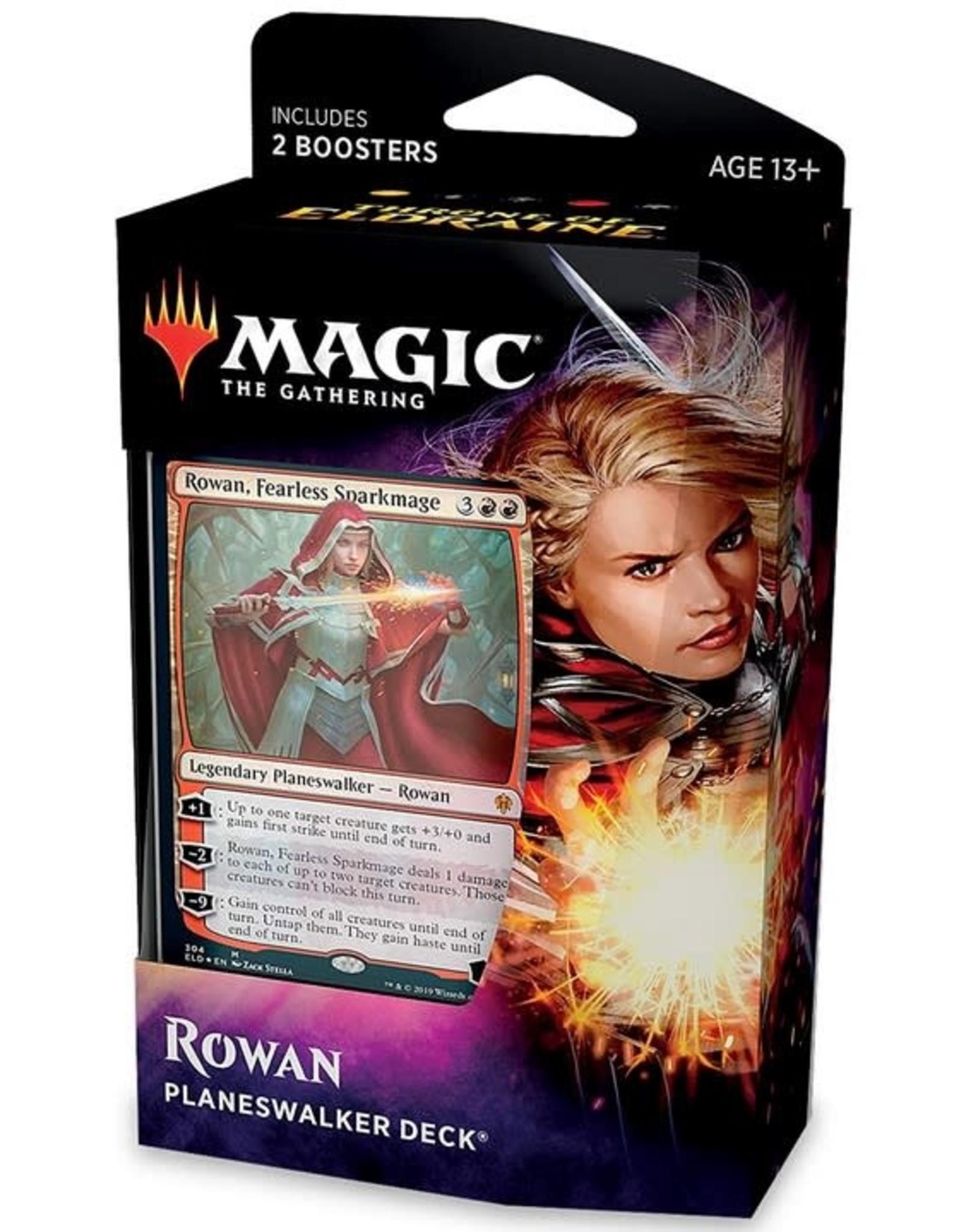 Wizards of the Coast MtG Throne of Eldraine Planeswalker Rowan