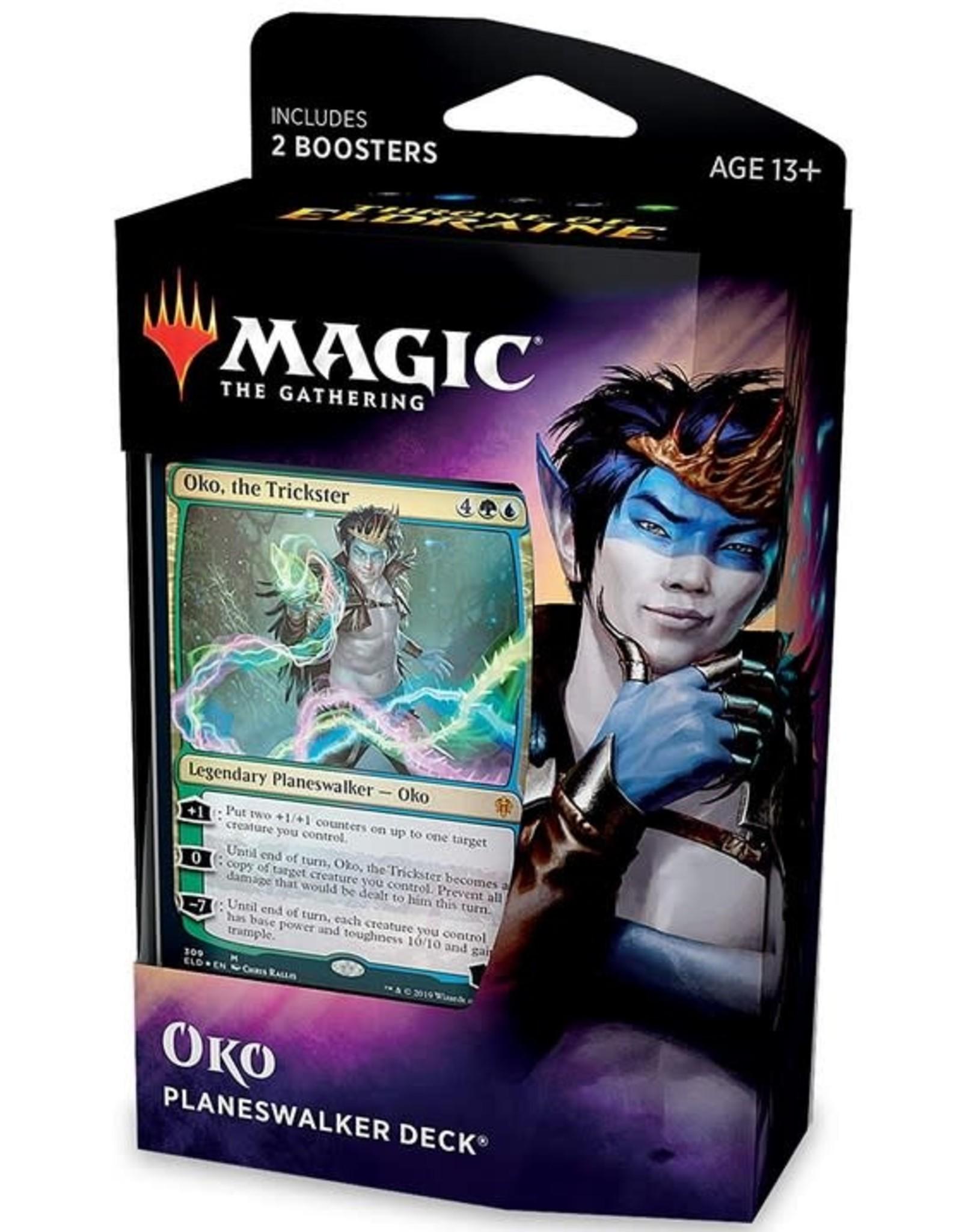 Wizards of the Coast MtG Throne of Eldraine Planeswalker Oko