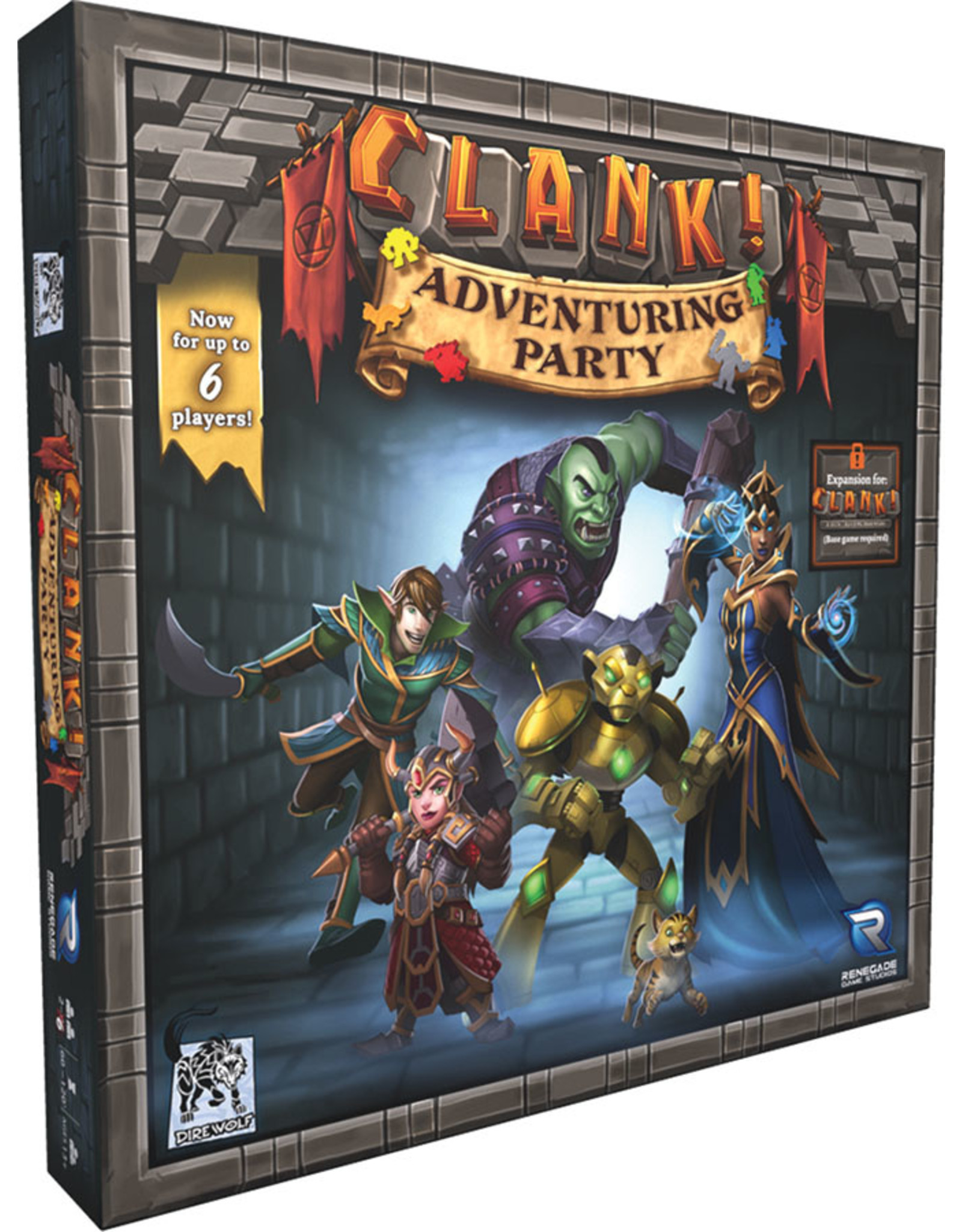 Renegade Game Studios Clank!: Adventuring Party Expansion