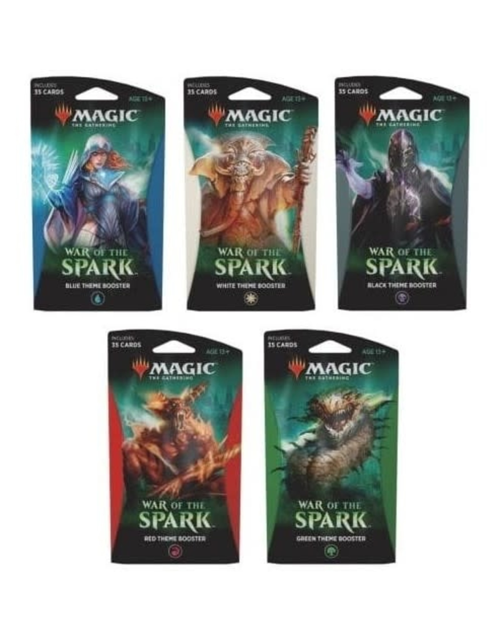 Wizards of the Coast MtG War of the Spark Themed Booster Single