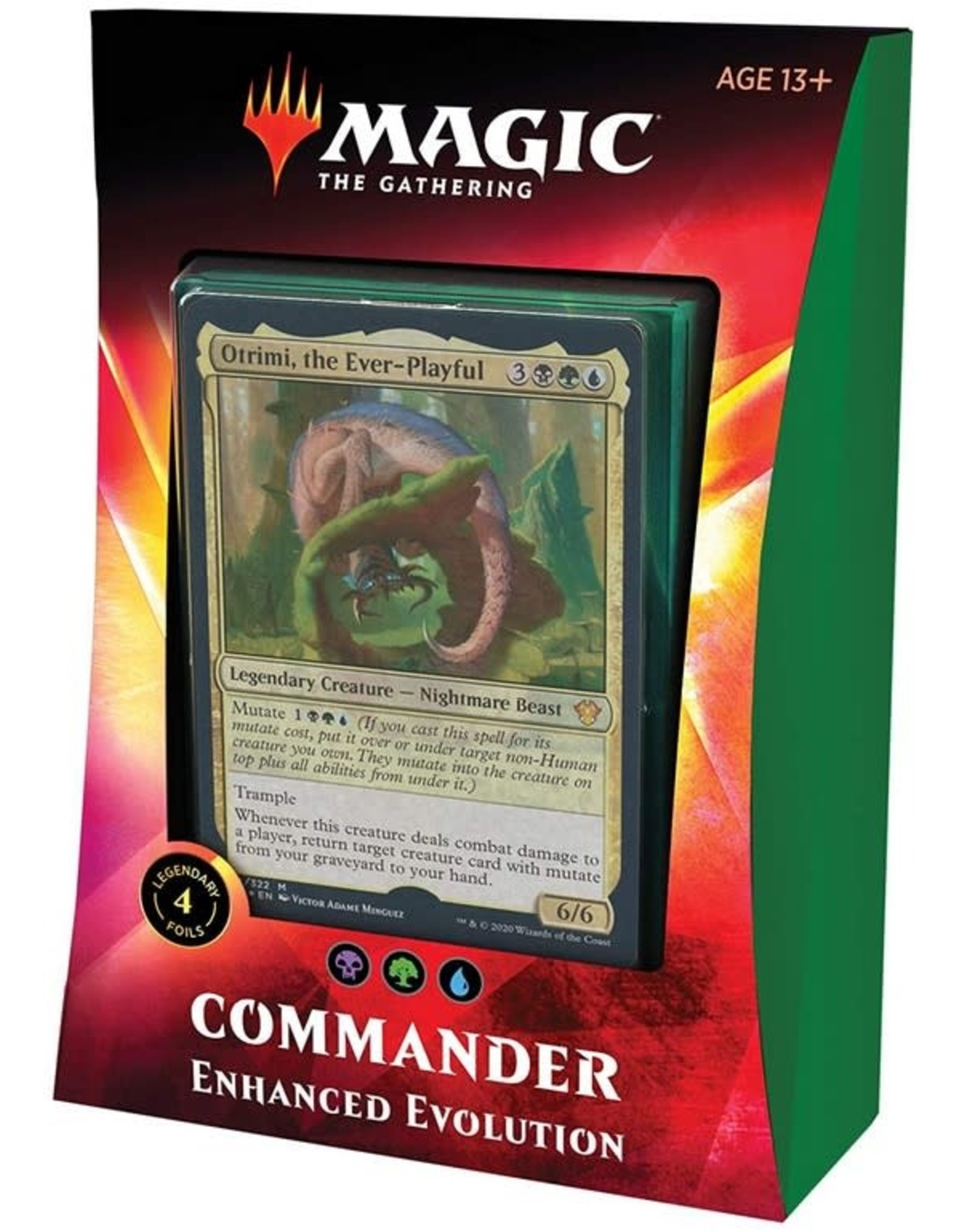 Wizards of the Coast MtG Commander 2020 Enhanced Evolution