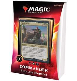 Wizards of the Coast MtG Commander 2020 Ruthless Regiment