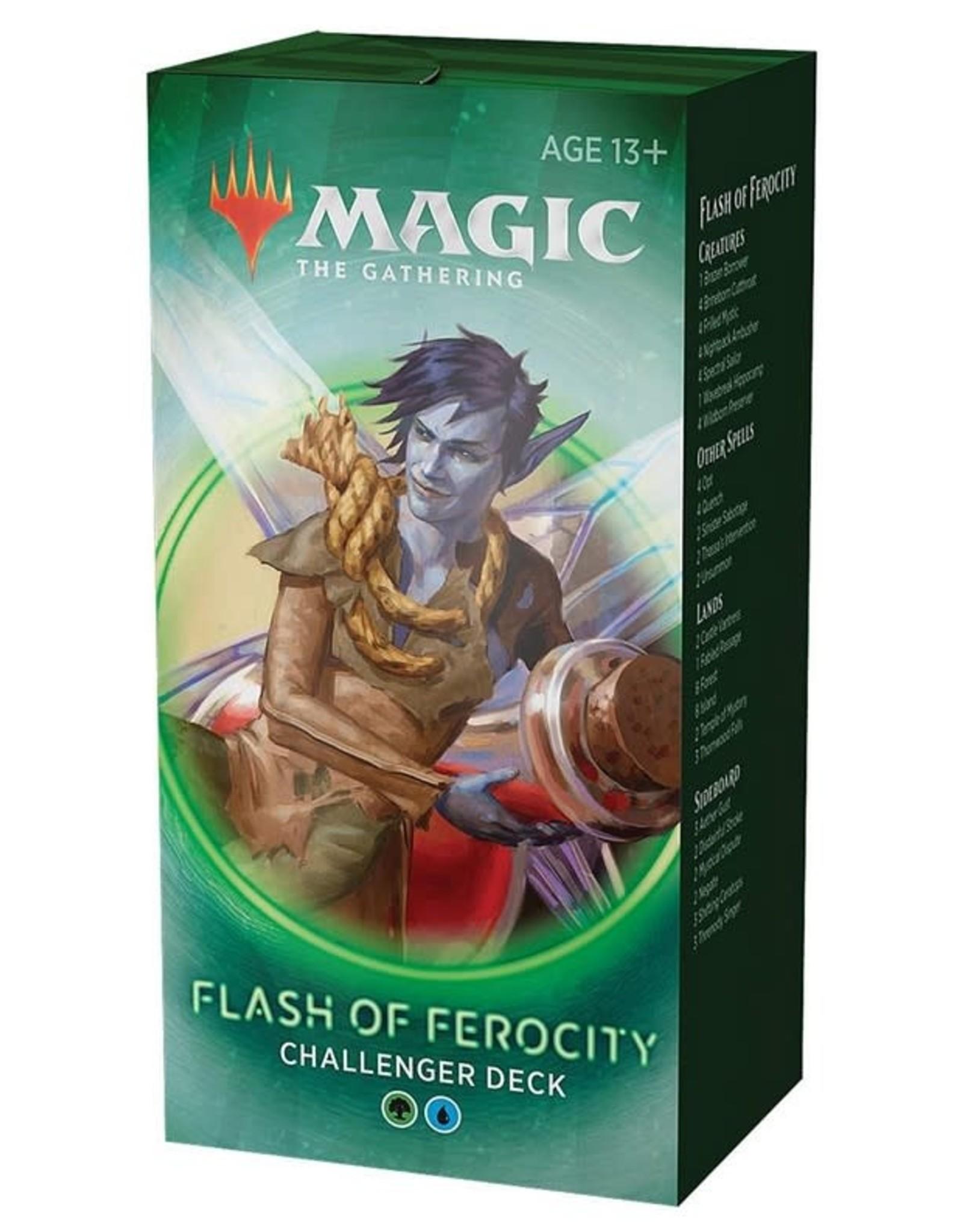 Wizards of the Coast MtG Challenger Deck Flash of Ferocity