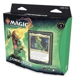 Wizards of the Coast MtG Zendikar Commander Zendikar Lands Wrath