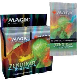 Wizards of the Coast MTG: Zendikar Rising Collector Booster Box