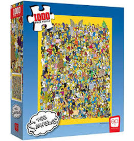 USAopoly Simpsons Cast