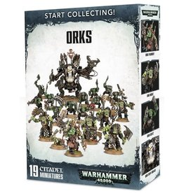 Warhammer 40K WH40K: Orks Start Collecting