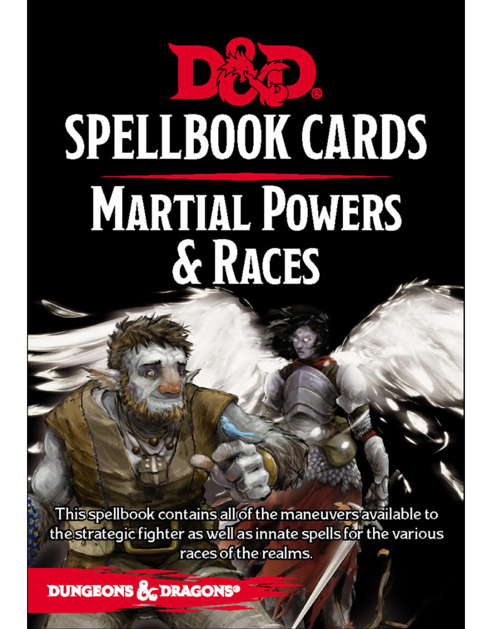 Wizards of the Coast D&D Spellbook  Martial Power & Races