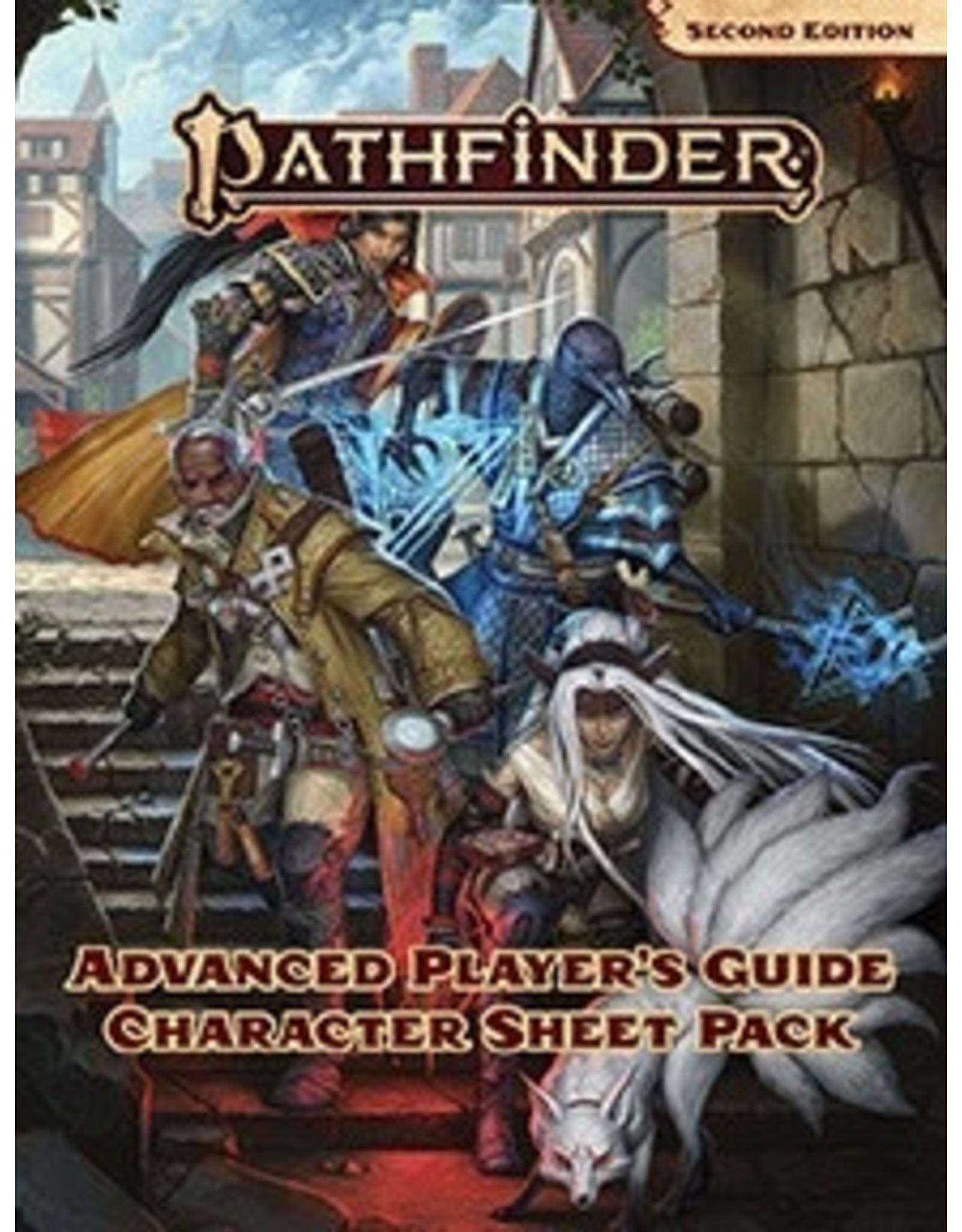 Paizo Pathfinder 2E - Advanced Players Guide Character Sheet