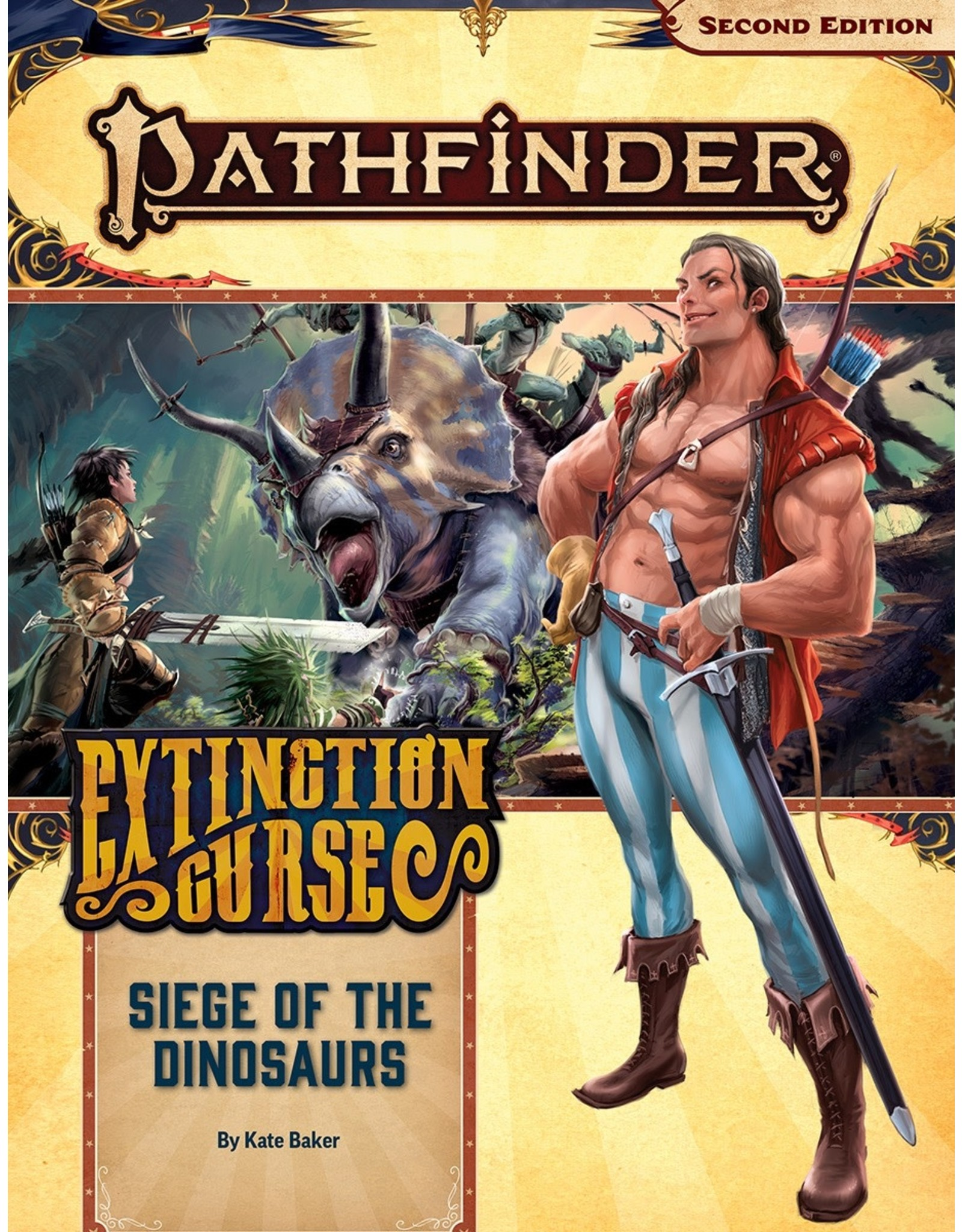 Paizo Pathfinder 2E: Extinction Curse - Siege of the Dinosaurs
