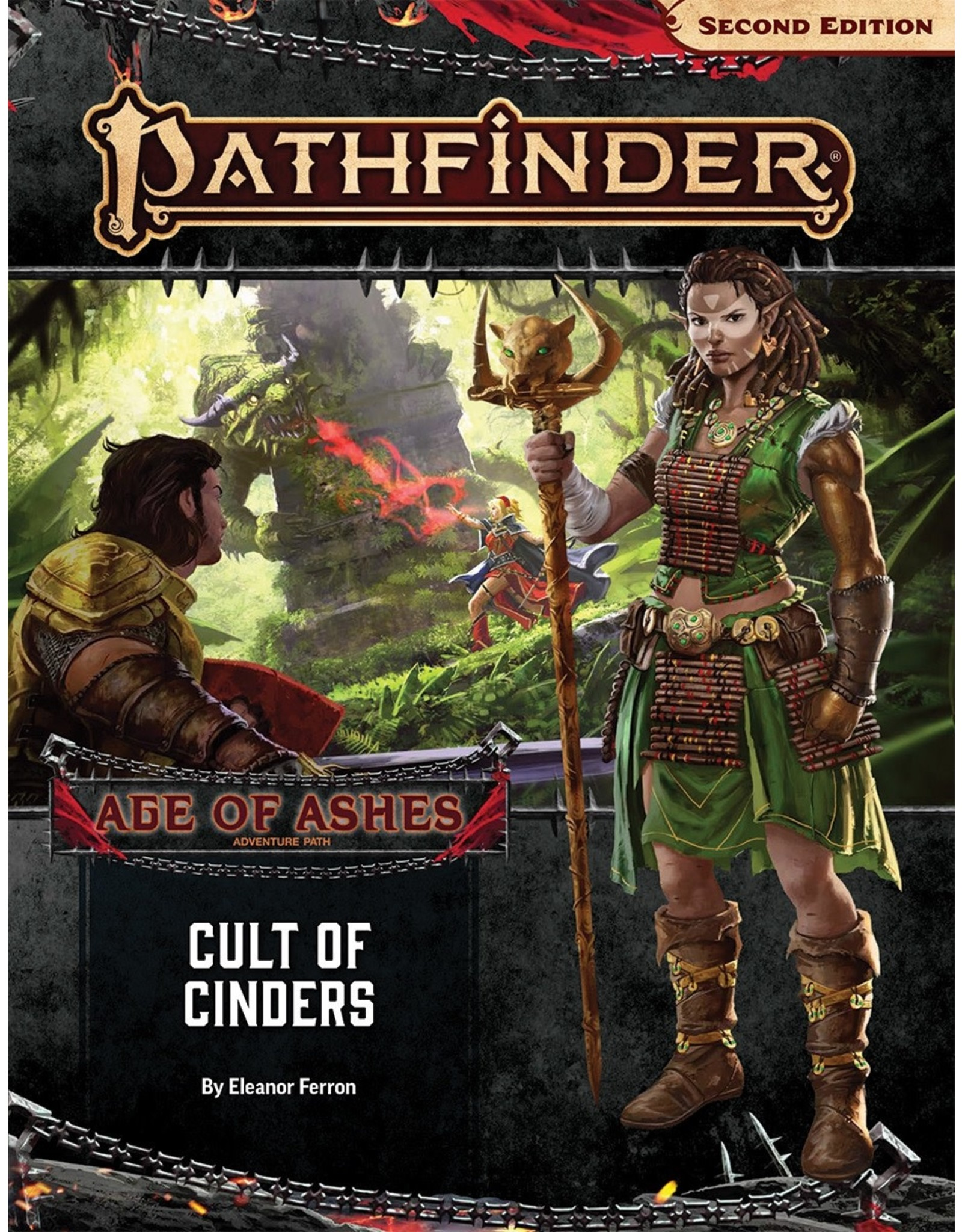 Paizo Pathfinder 2E: Age of Ashes-Cult of Cinders