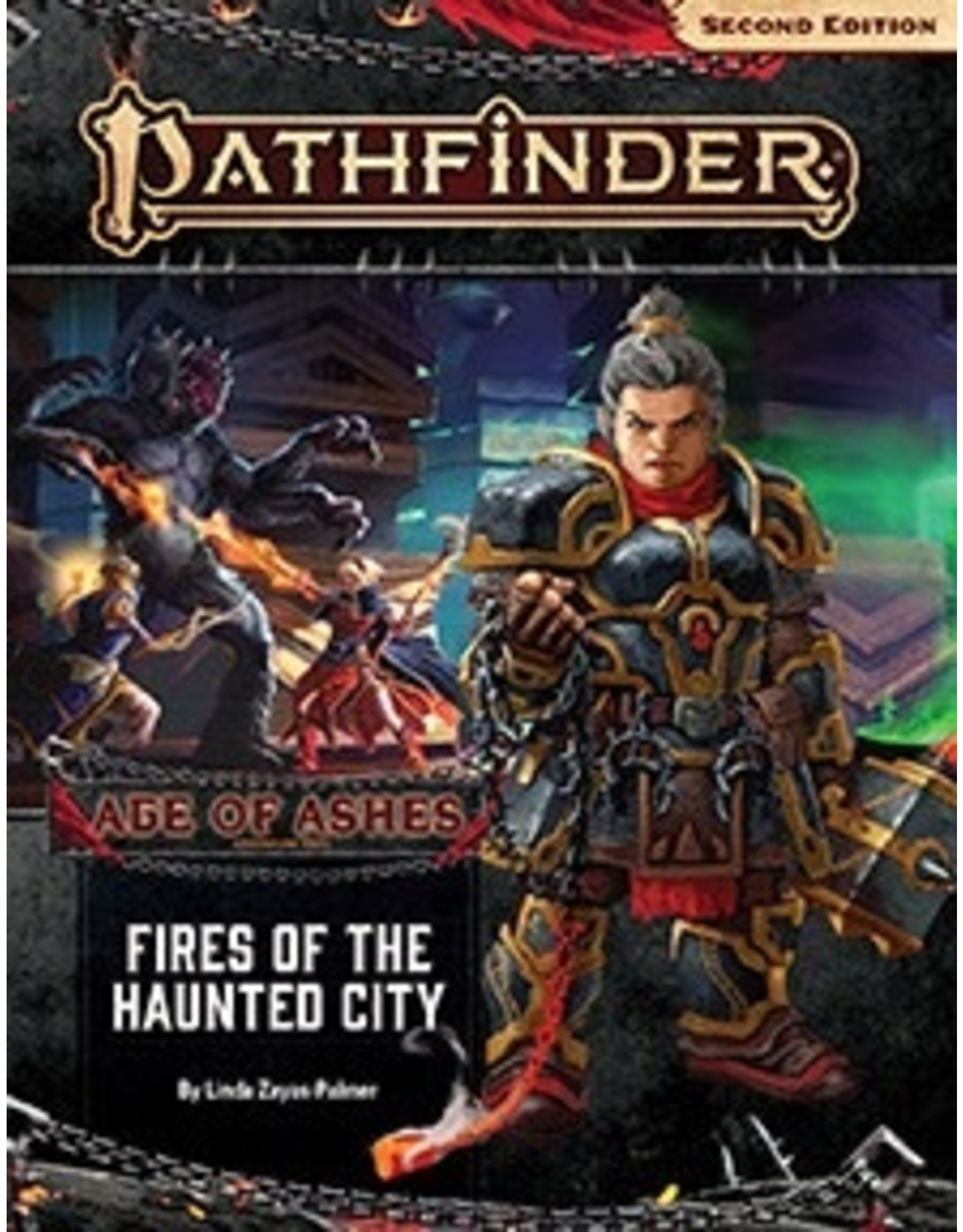 Paizo Pathfinder 2E: Age of Ashes-Fires of the Haunted City