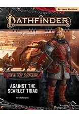 Paizo Pathfinder 2E: Age of Ashes- Against the Scarlet Triad
