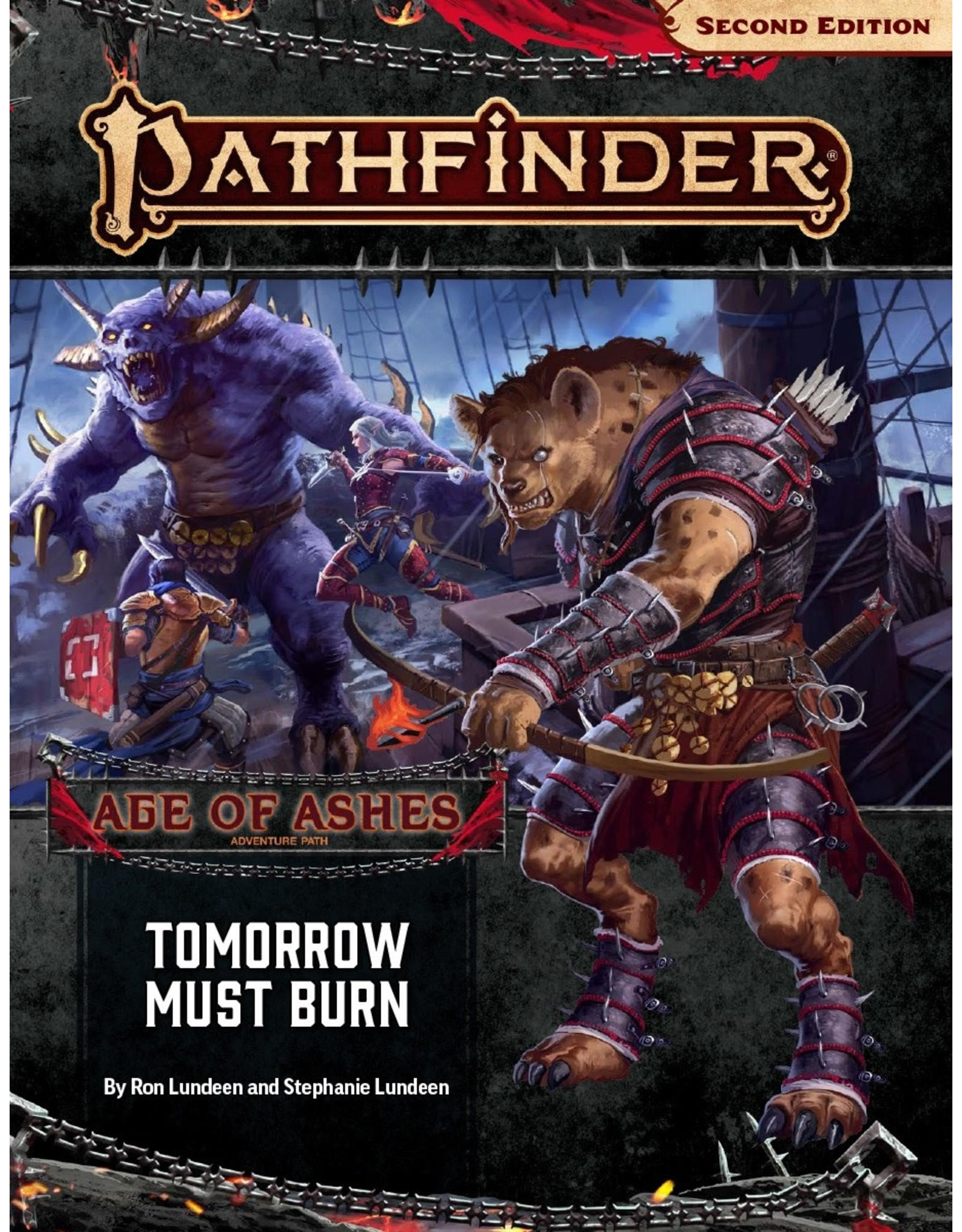 Paizo Pathfinder 2E: Age of Ashes- Tomorrow Must Burn