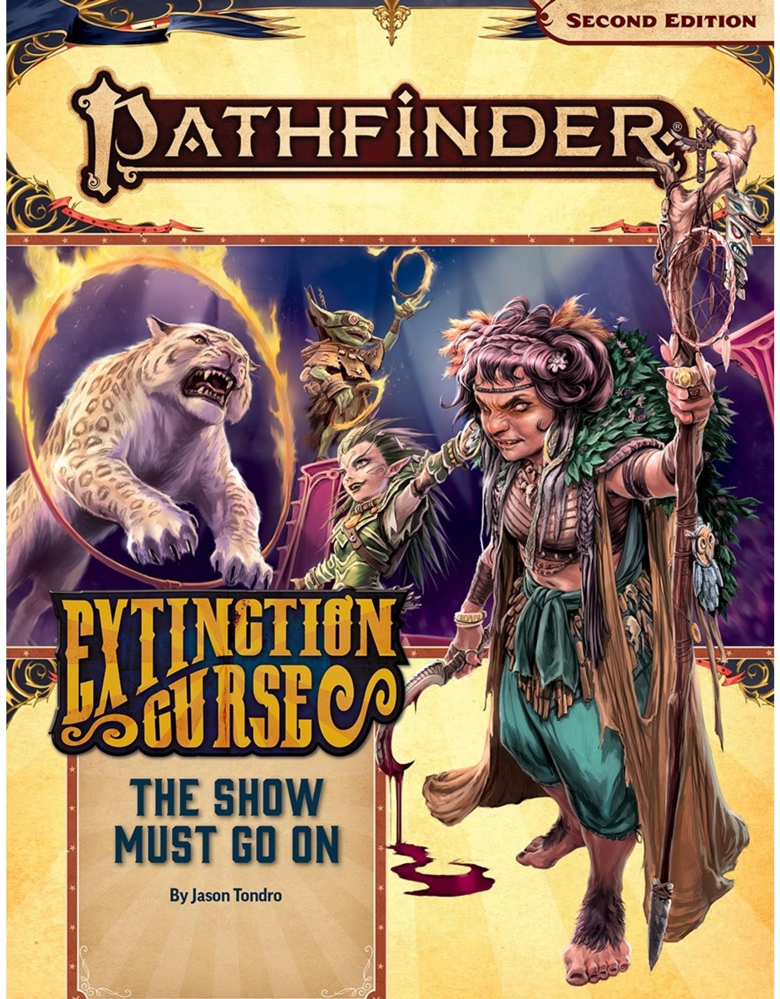 Paizo Pathfinder 2E: Extinction Curse- The Show Must Go On