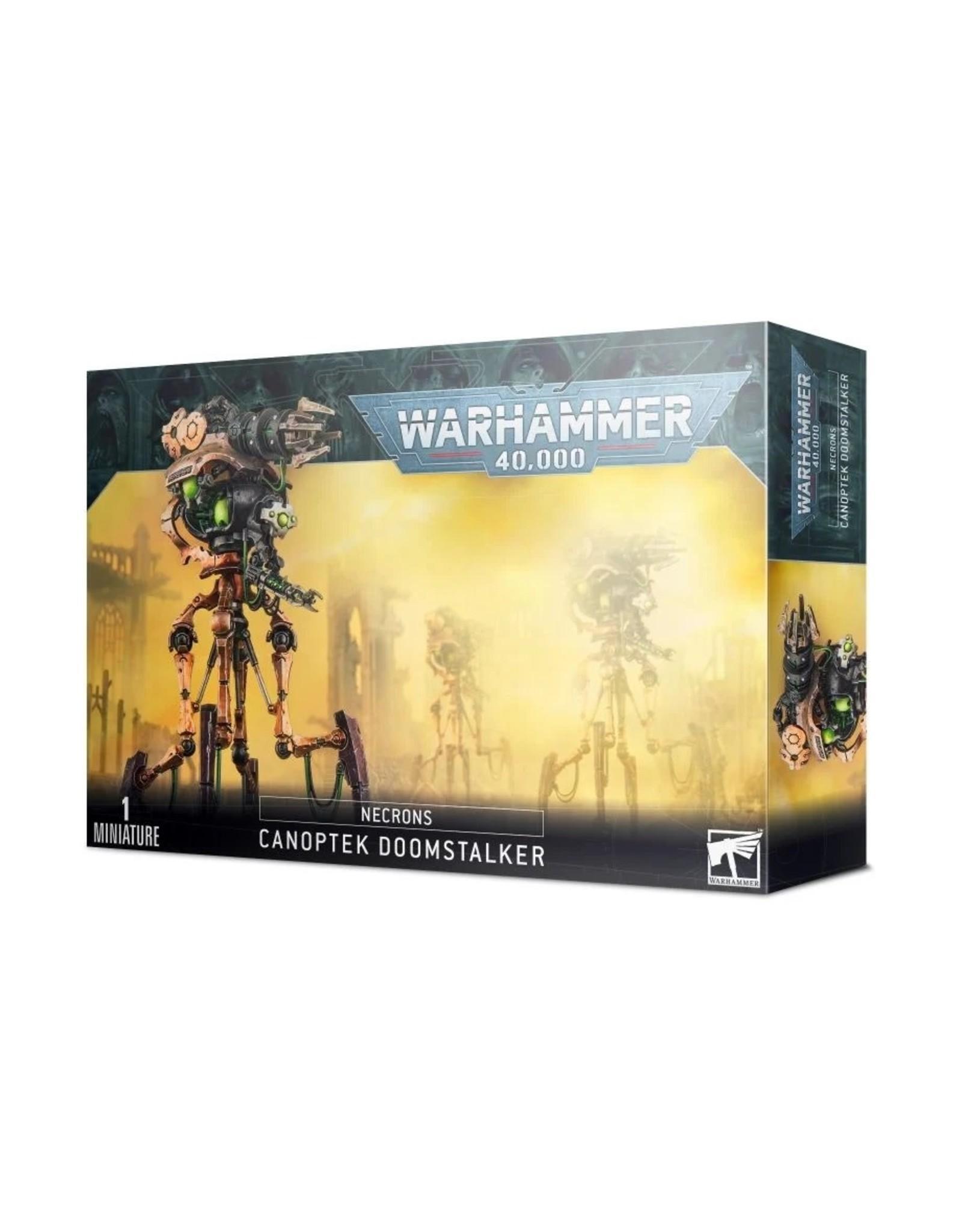 Warhammer 40K WH40K Necron Canoptek Doomstalker