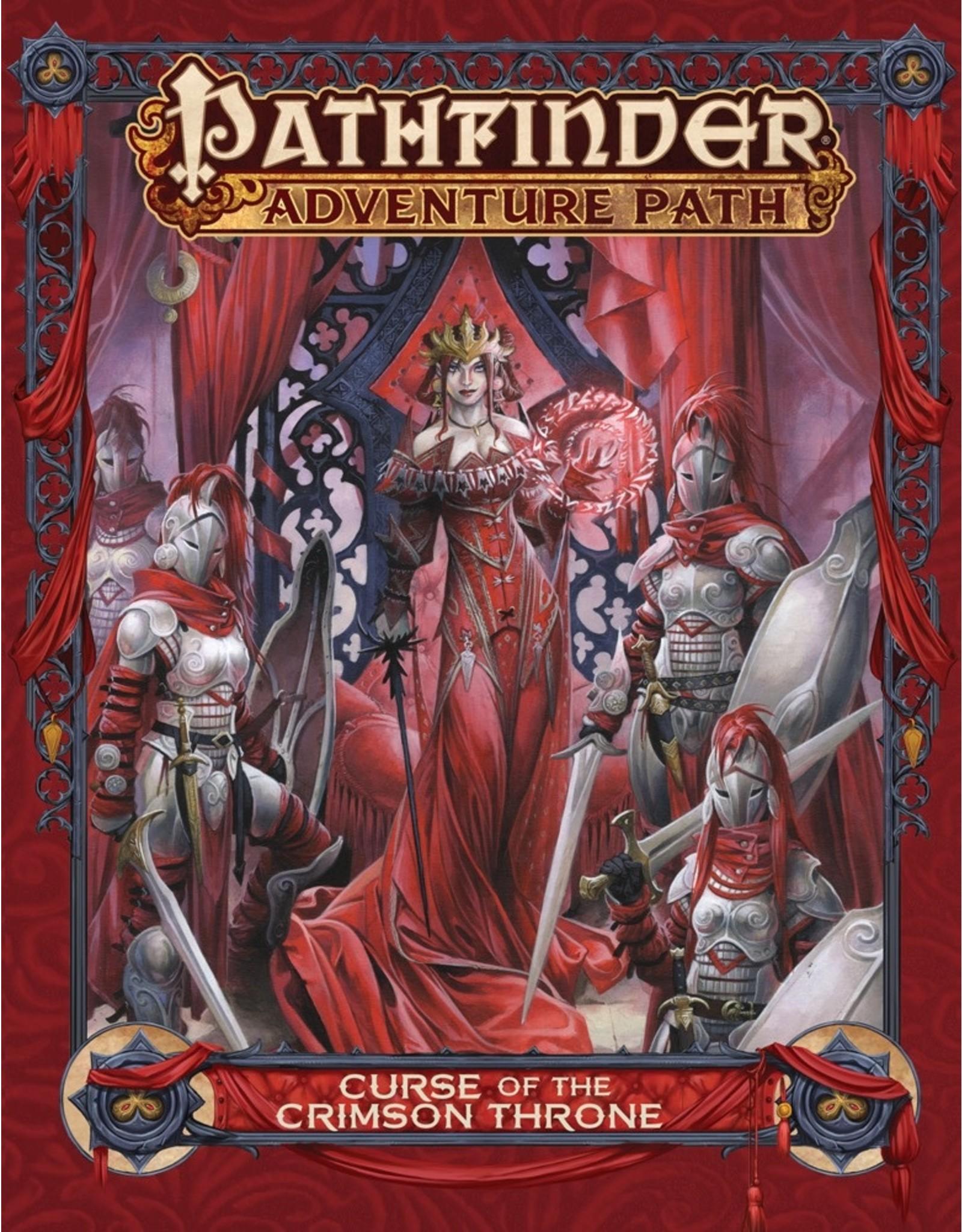 Paizo Pathfinder Adventure Path - Curse of the Crimson Throne