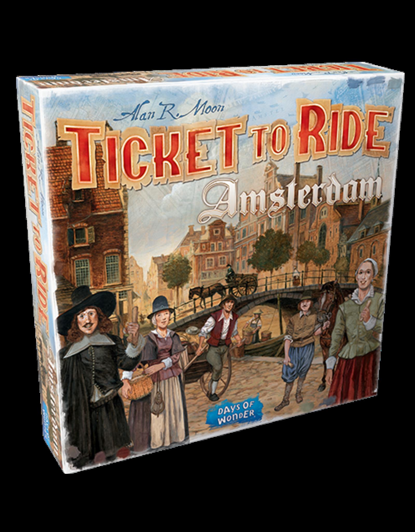 Days of Wonder Ticket to Ride Amsterdam