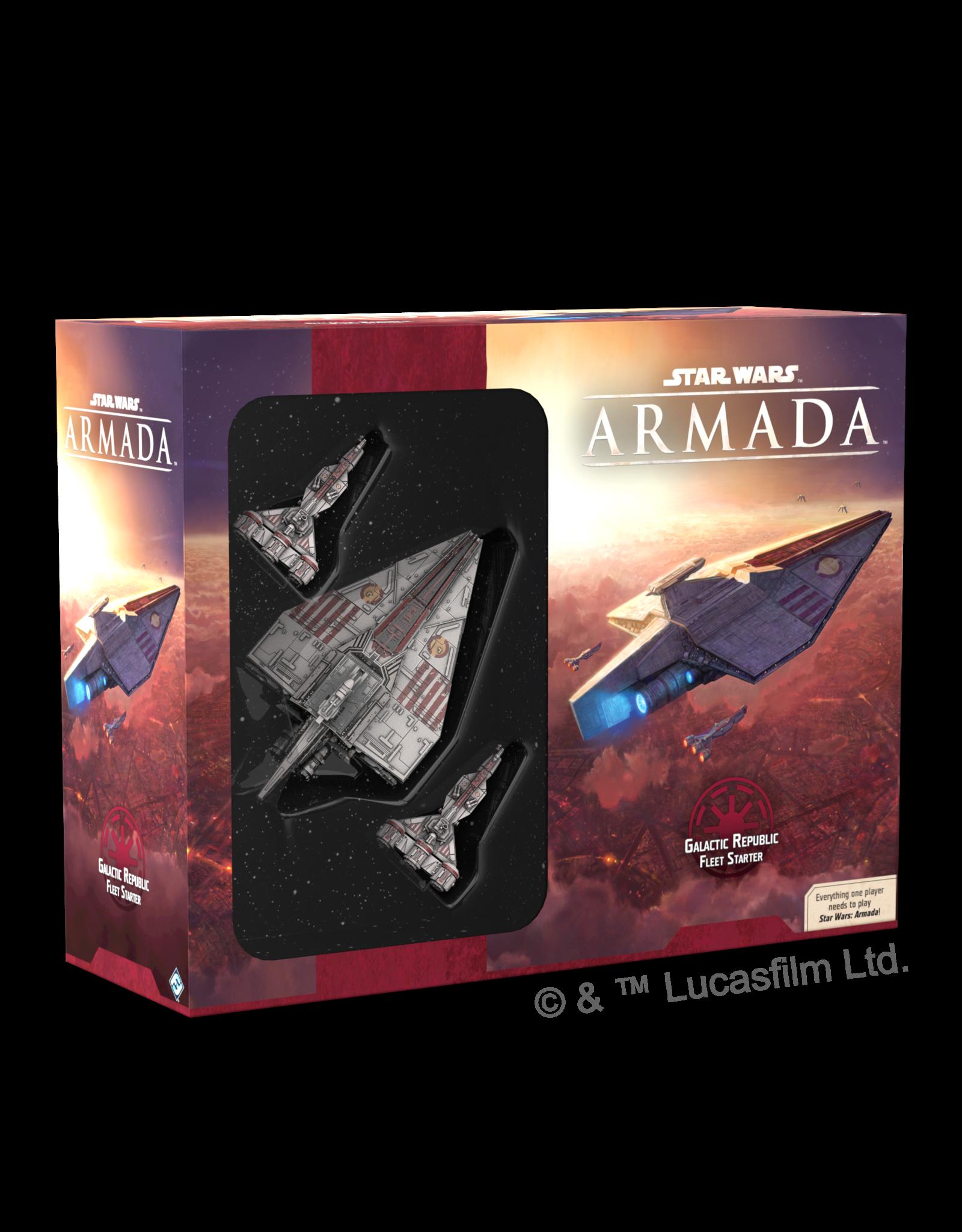 Fantasy Flight Games Star Wars Armada: Galactic Republic Fleet Starter
