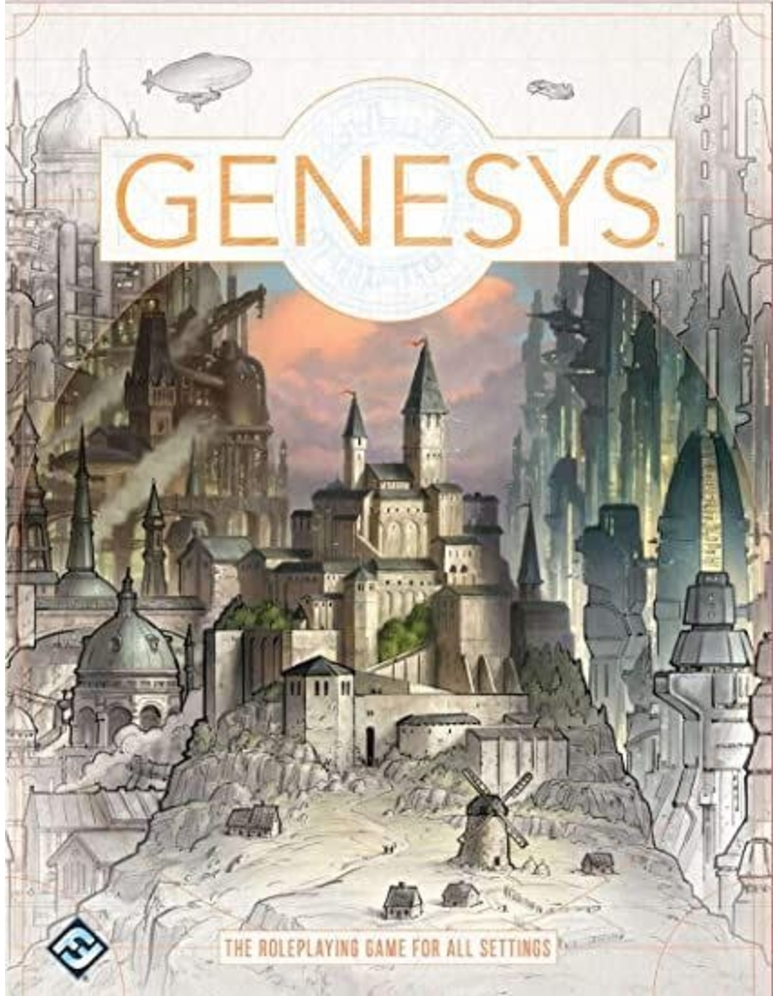 Fantasy Flight Games Genesys RPG: Core Rulebook Hardcover