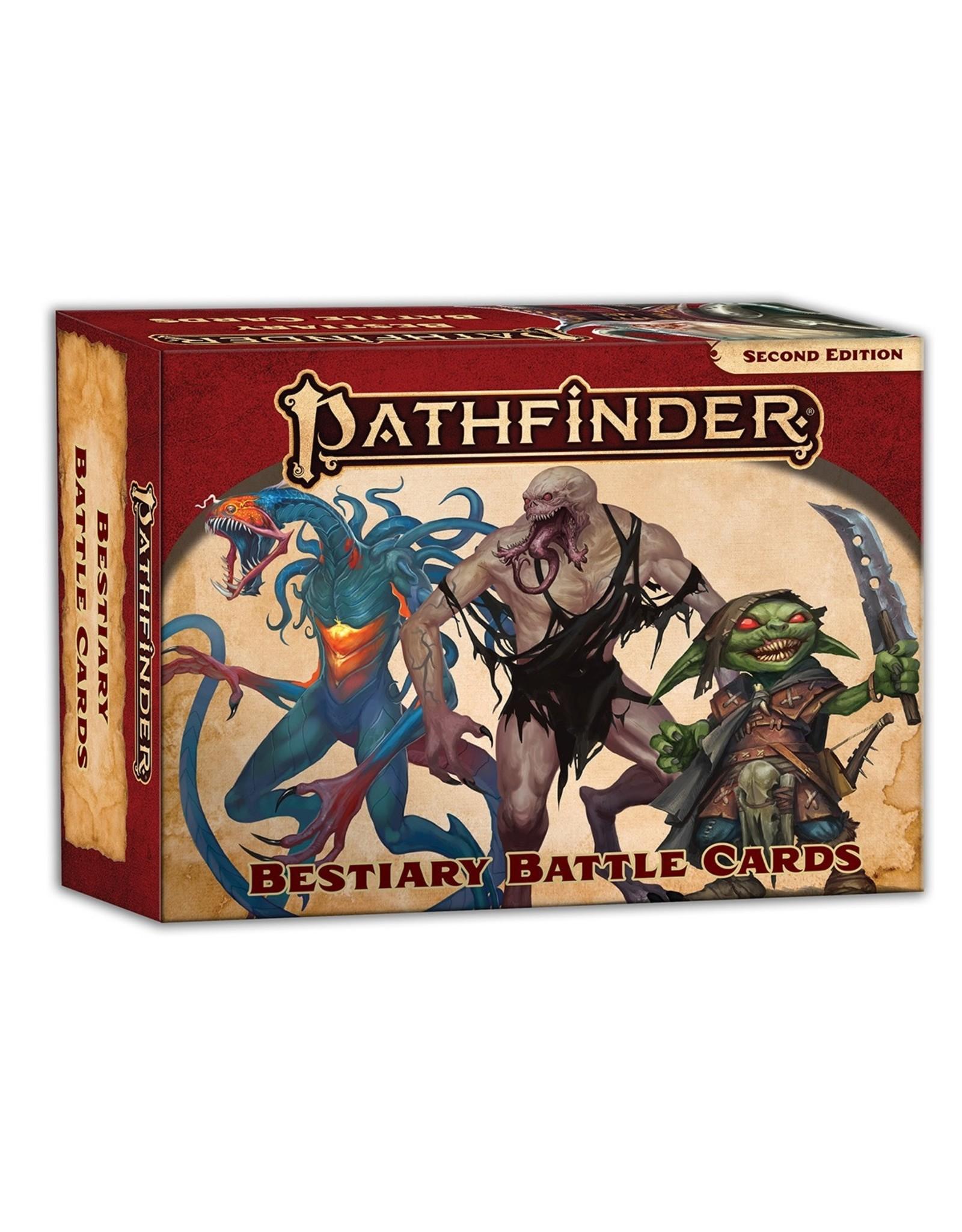 Paizo Pathfinder 2E - Bestiary Battle Cards