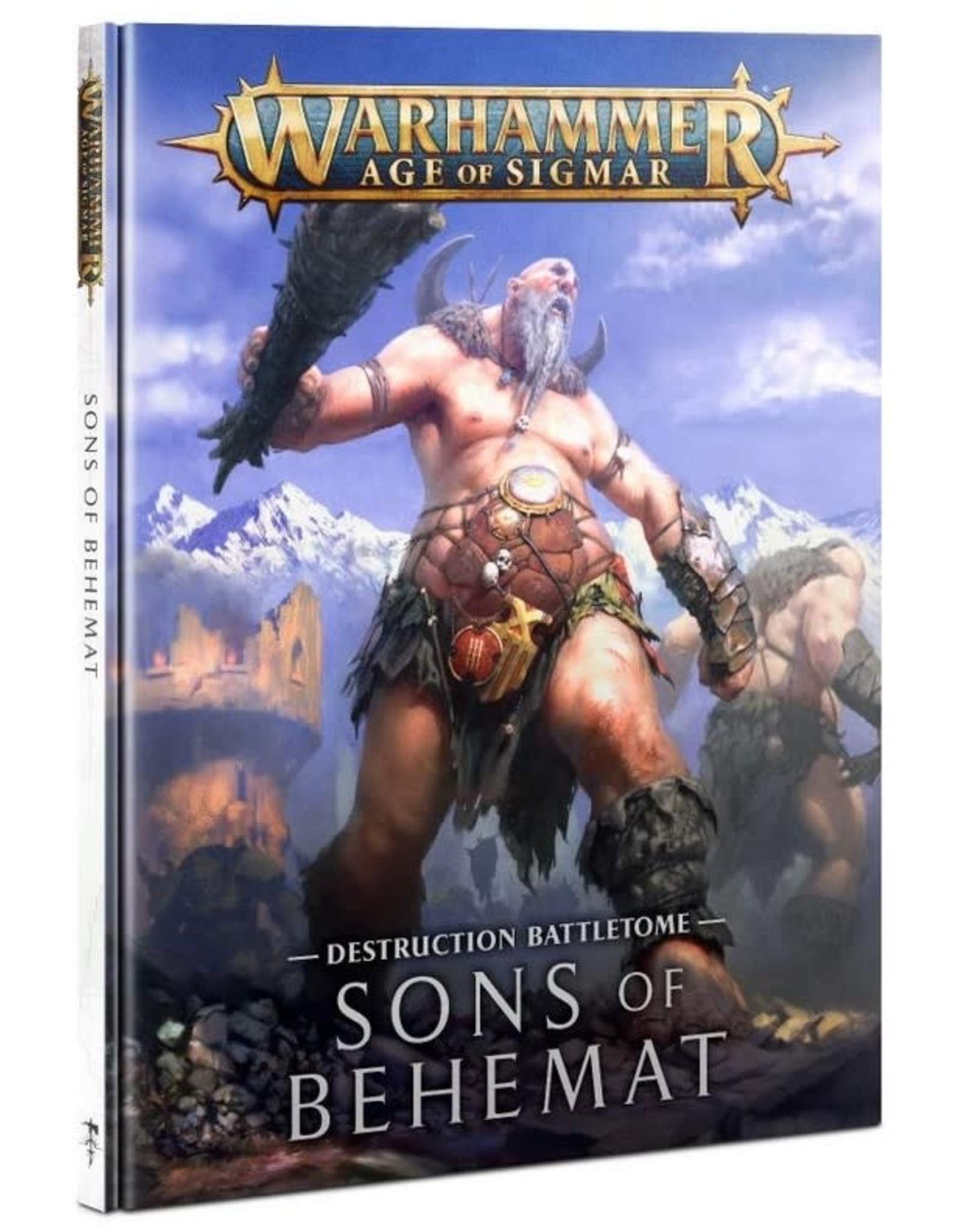 Warhammer AoS WHAoS Destruction Battletome- Sons of Behemat