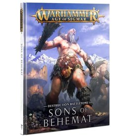 Warhammer AoS WHAoS Destruction Battletome- Sons of Behemat