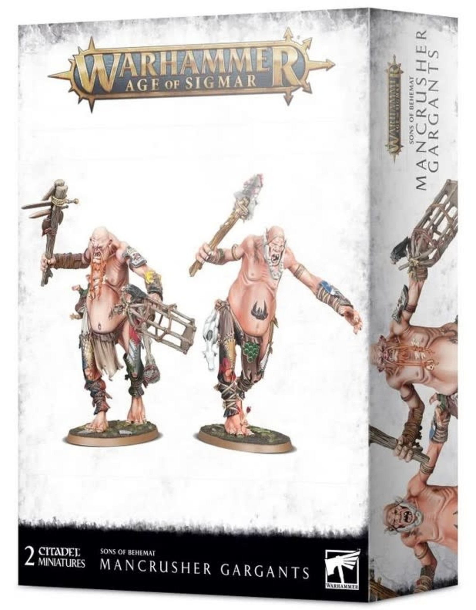 Warhammer AoS WHAoS Sons of Behemat Mancrusher Gargants